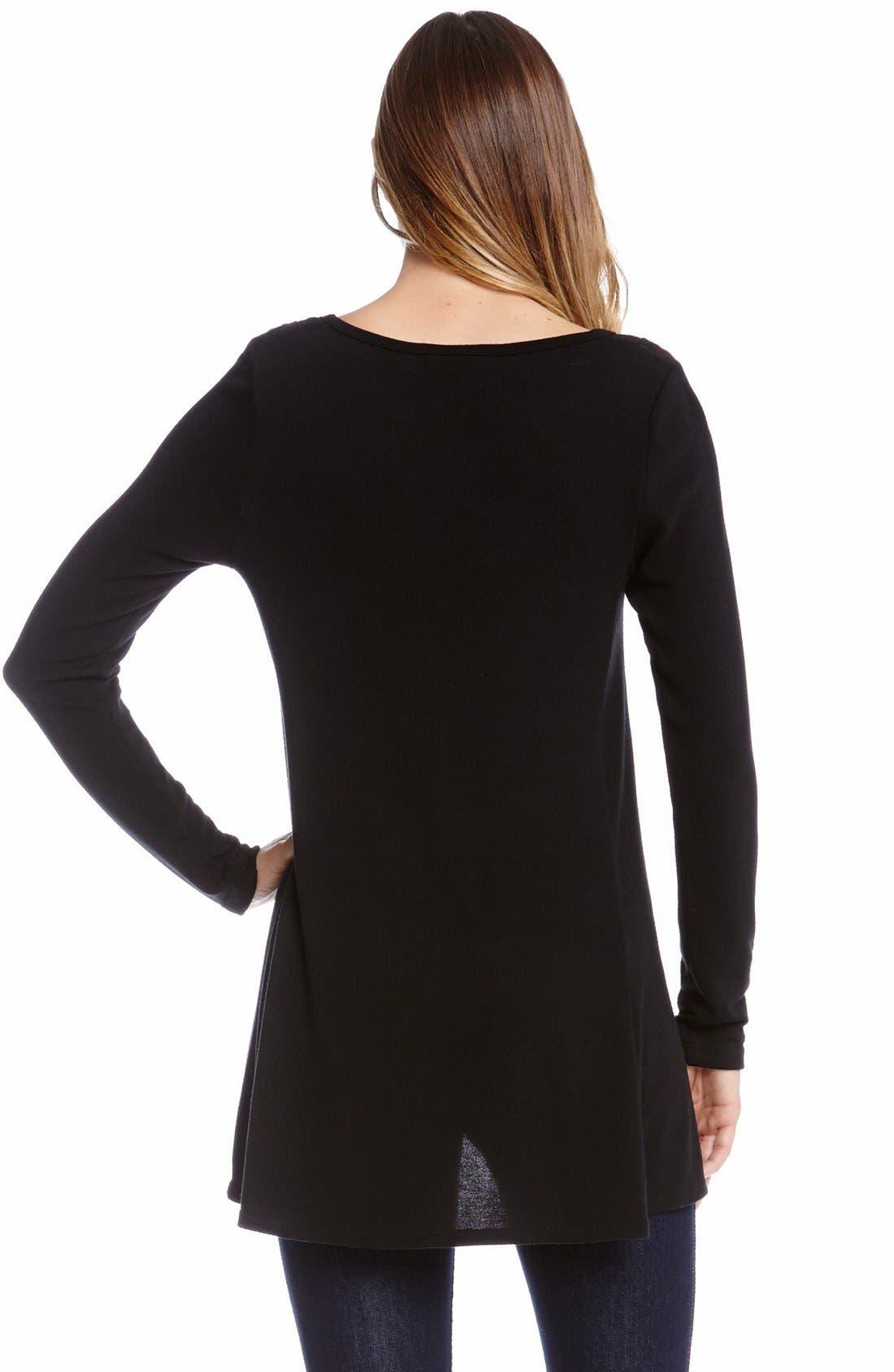 Alternate Image 2  - Karen Kane Seam Detail Sweater