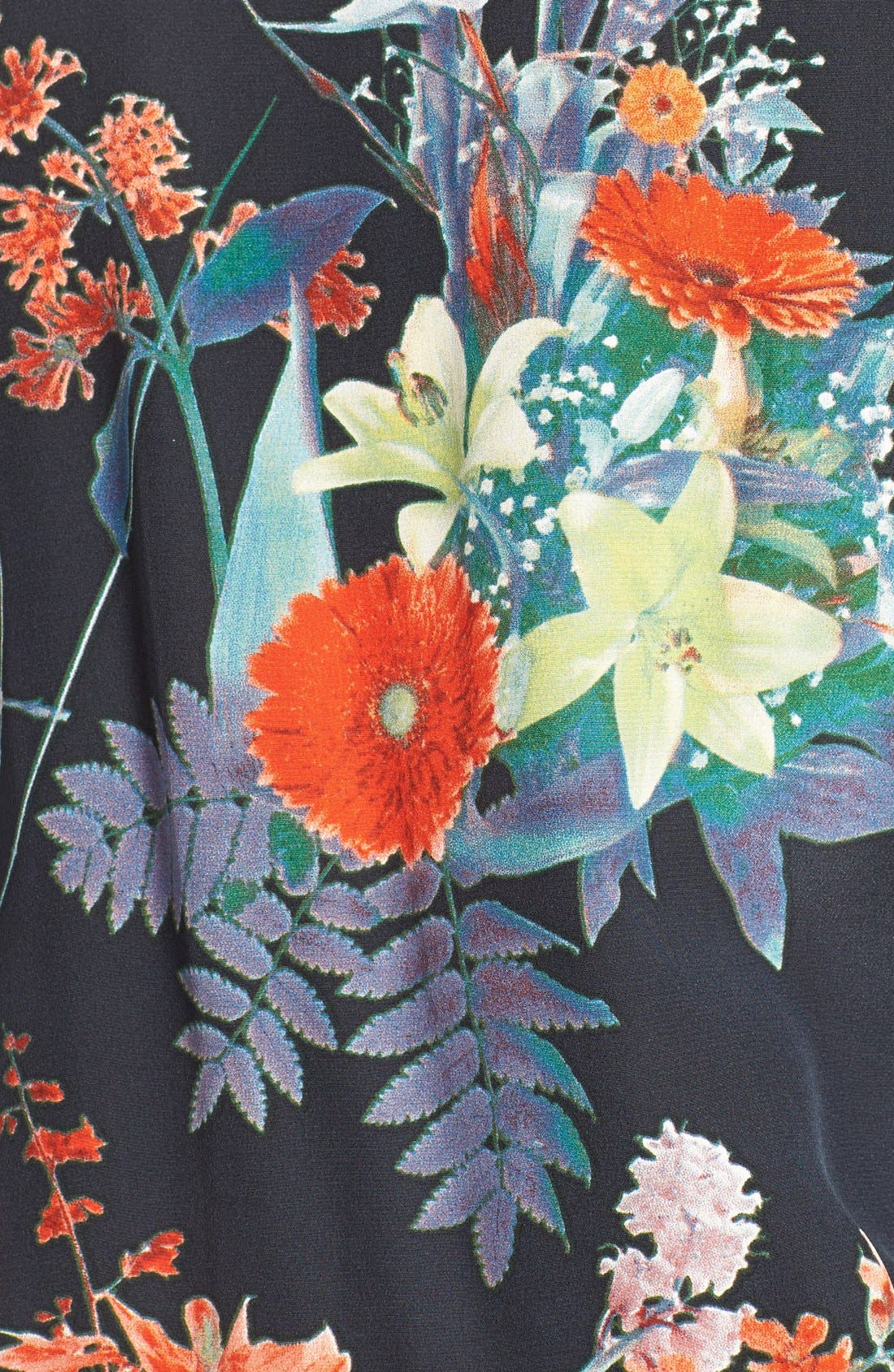 Alternate Image 4  - Charlie Jade Floral Print Silk Romper
