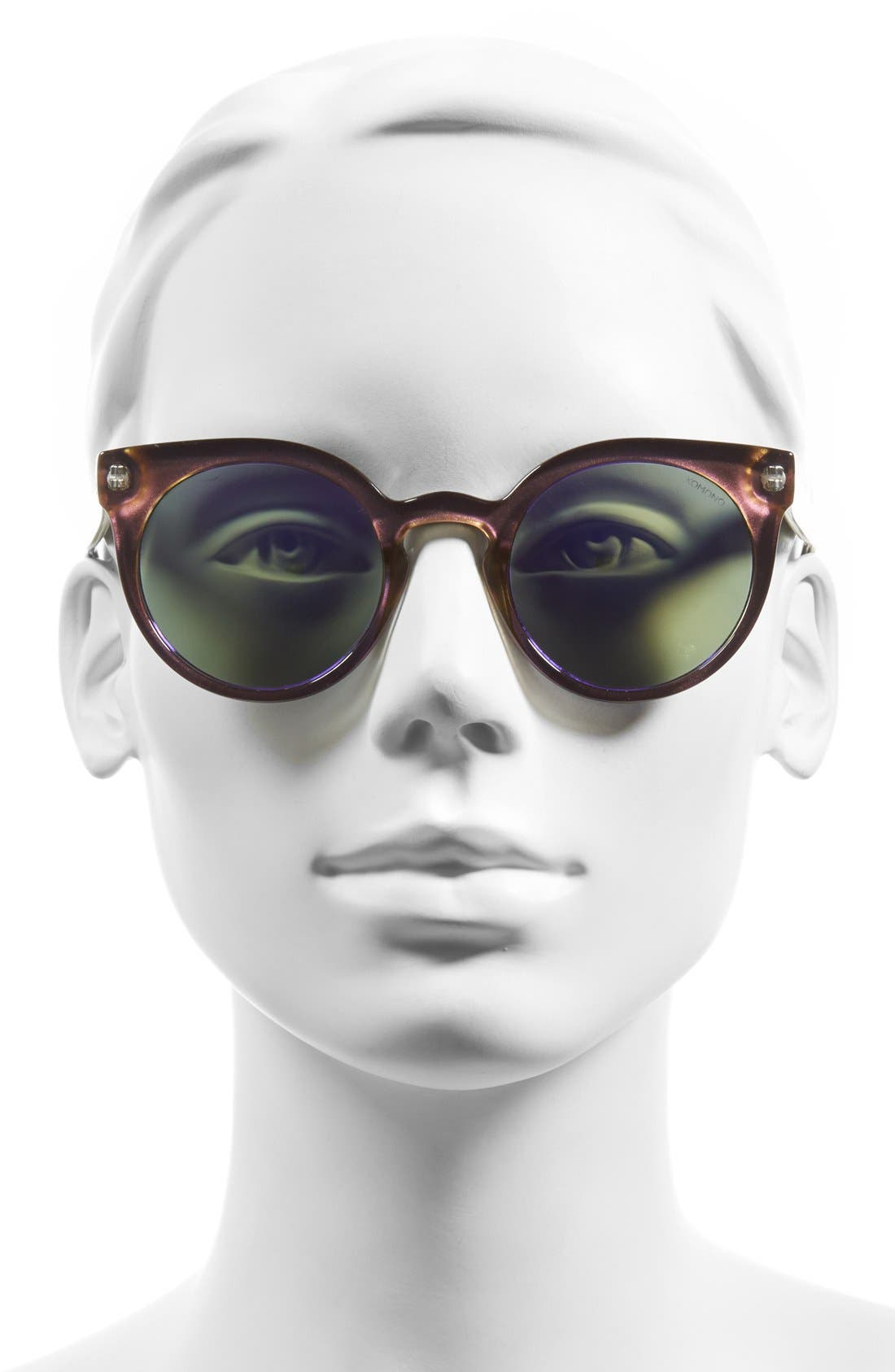 Alternate Image 2  - Komono 'Lulu' Round Lens Sunglasses
