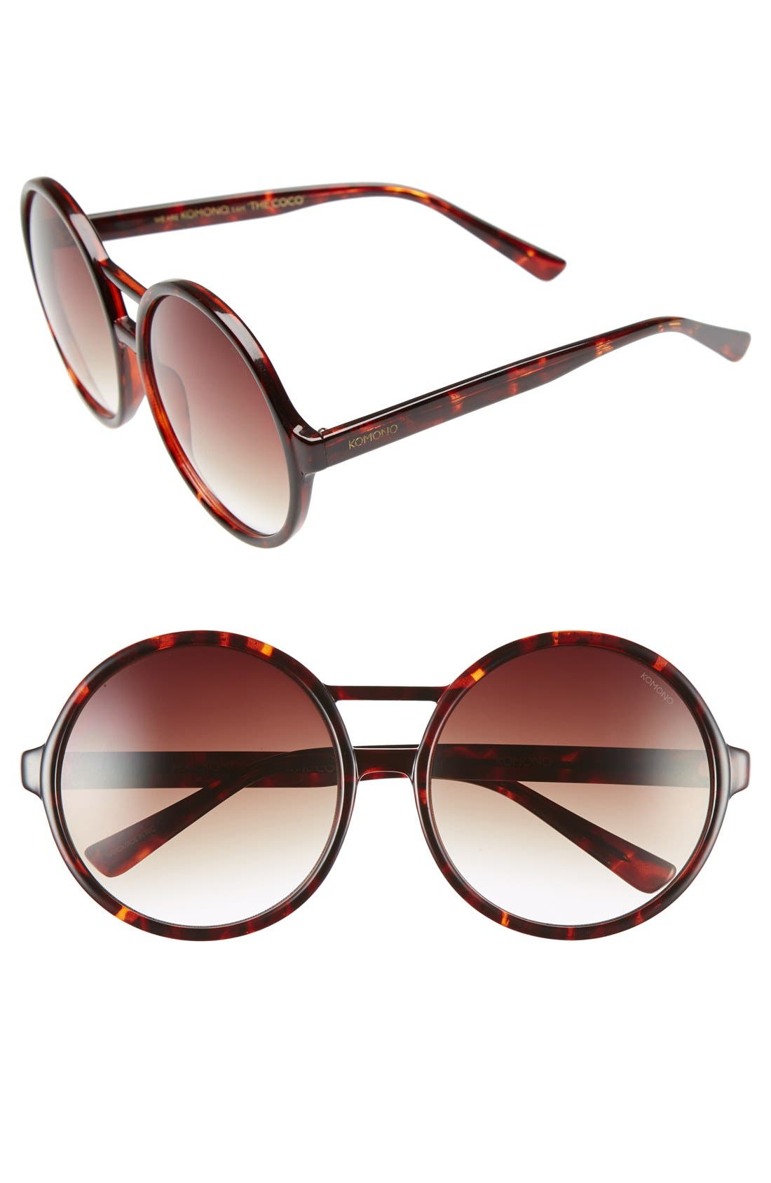 Main Image - Komono 'Coco' 58mm Sunglasses