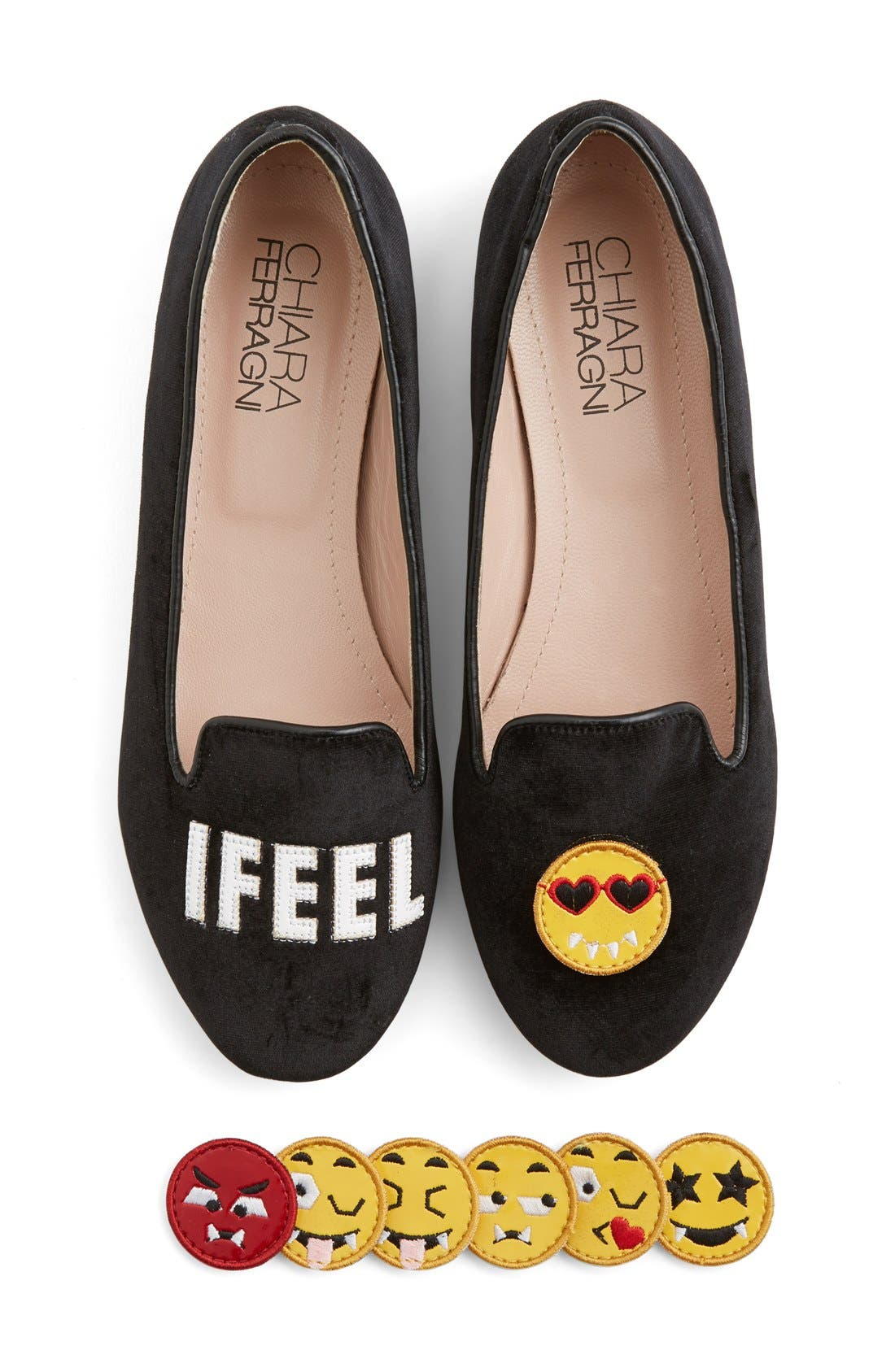 Alternate Image 1 Selected - ChiaraFerragni'I Feel' Flat (Women)