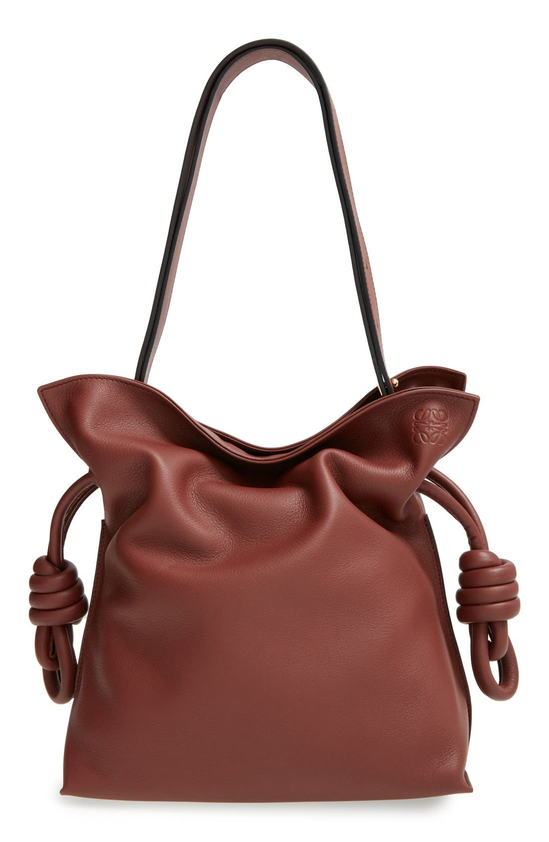 Loewe 'Small Flamenco Knot' Calfskin Leather Bag