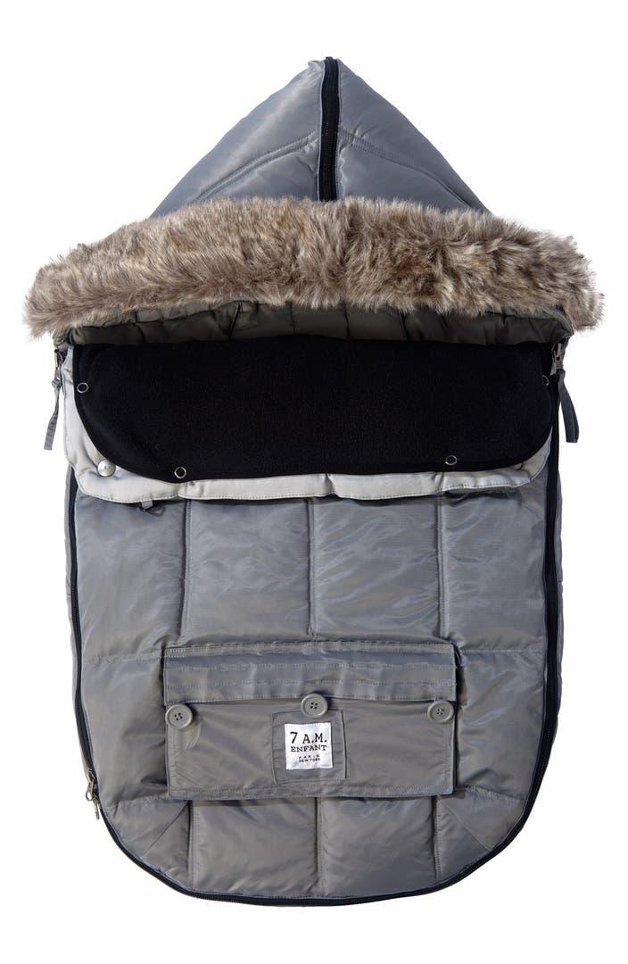 7 a m enfant 39 le sac igloo 39 water repellent stroller car seat bunting nordstrom. Black Bedroom Furniture Sets. Home Design Ideas