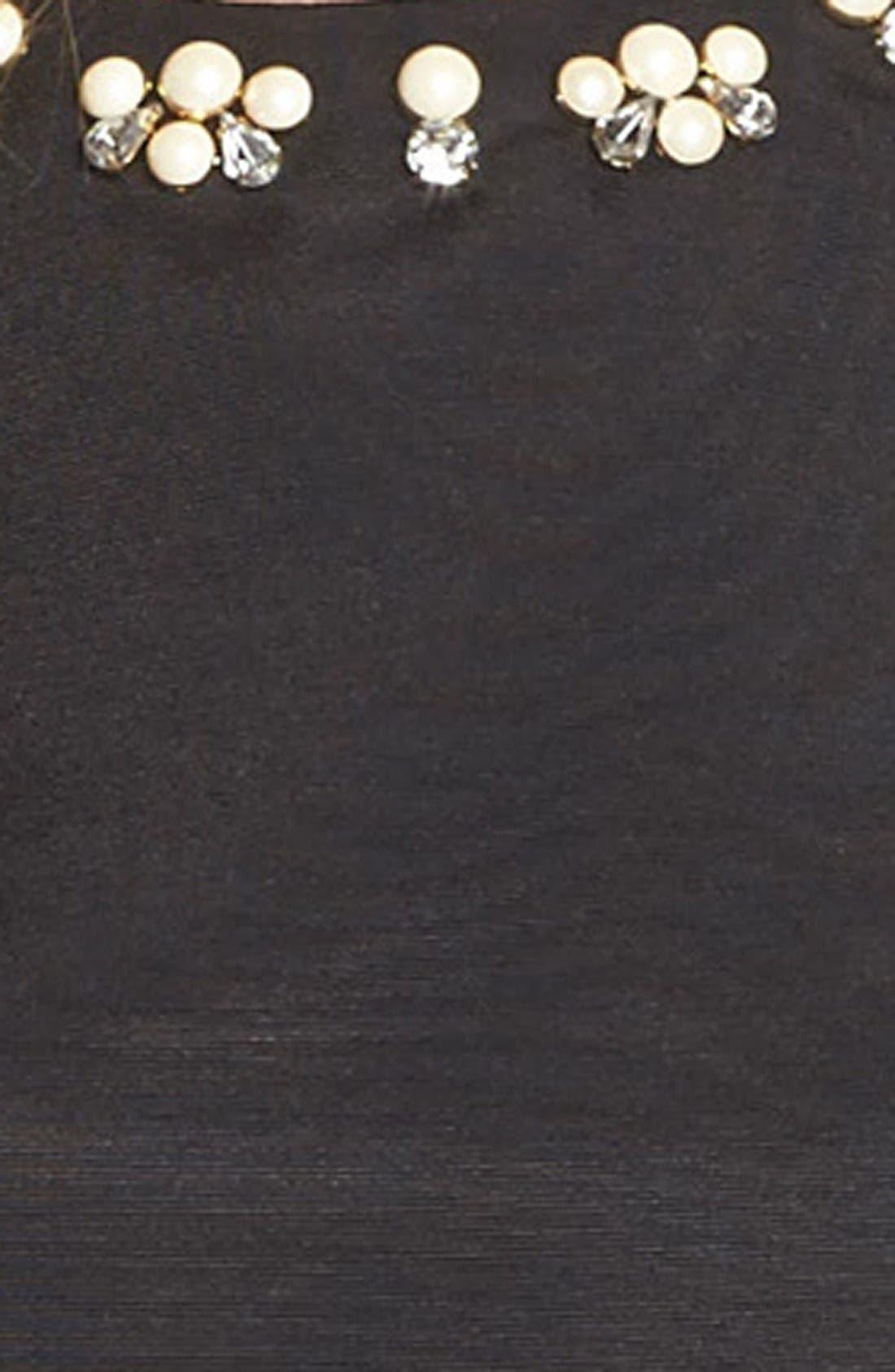 Alternate Image 5  - Eliza J Polka Dot Woven Ball Skirt