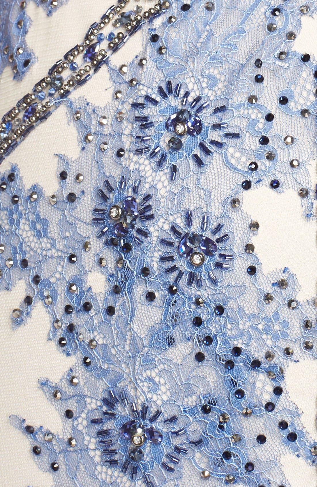 Alternate Image 6  - TeraniCouture Embellished Sleeveless Gown
