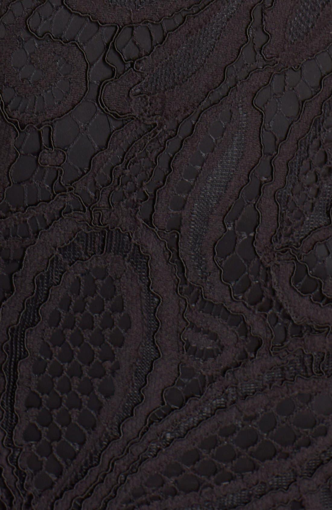 Alternate Image 2  - Trina Turk 'Agni' Lace Sheath Dress