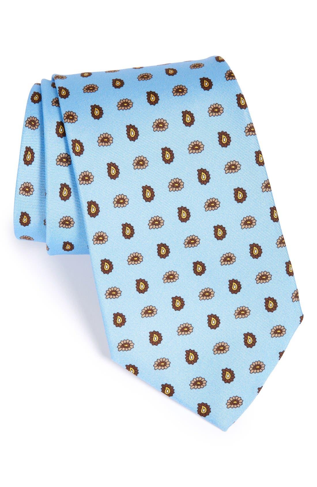 GITMAN PaisleySilk Tie