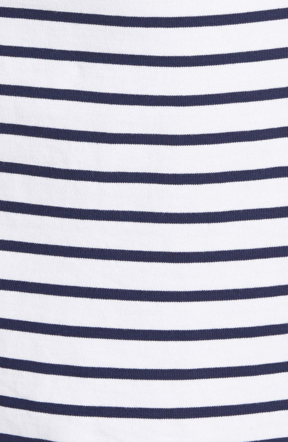 Alternate Image 4  - Vineyard Vines Stripe Cotton ShiftDress
