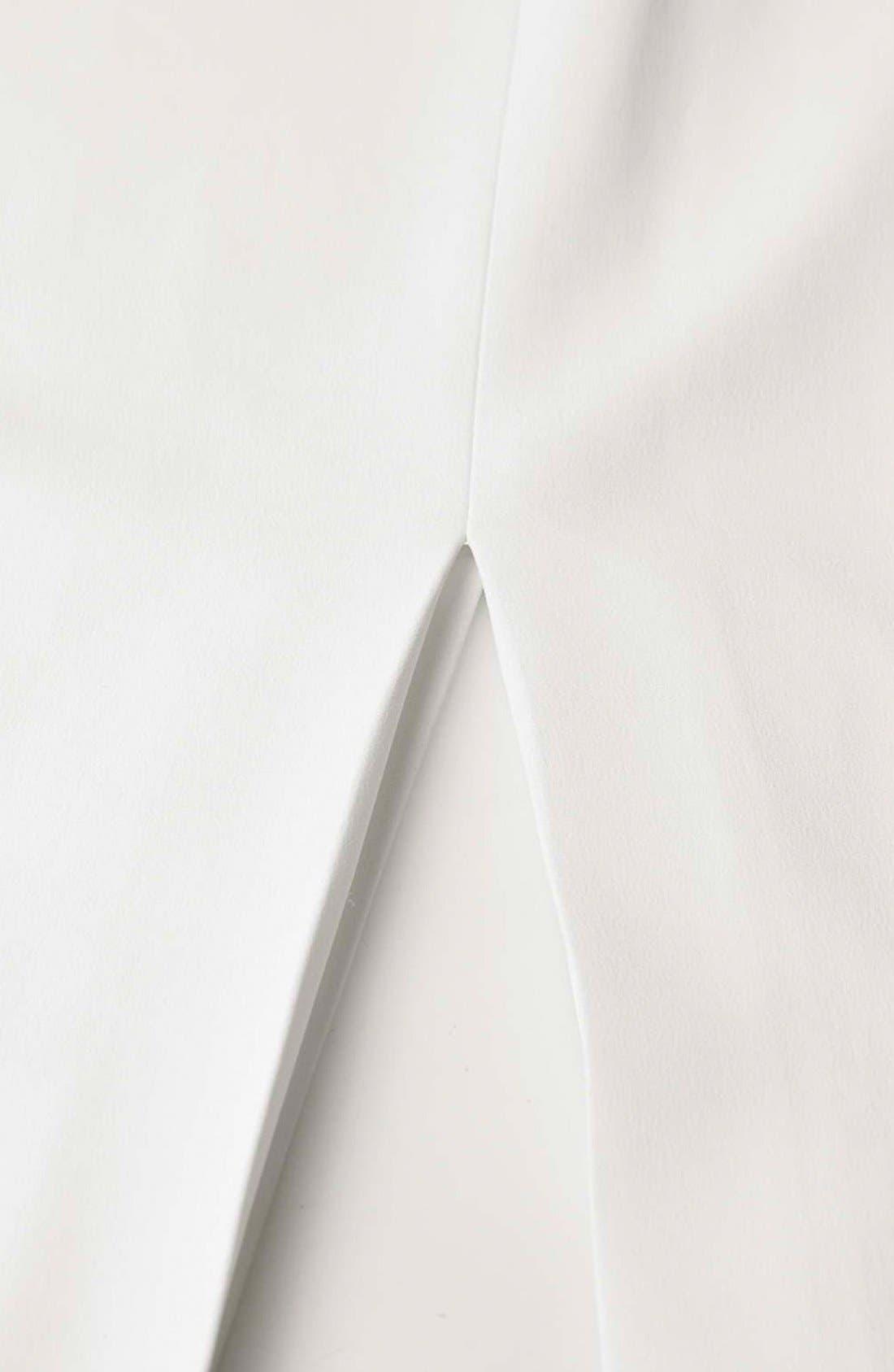 Alternate Image 8  - Topshop Boutique Side Slit Midi Skirt