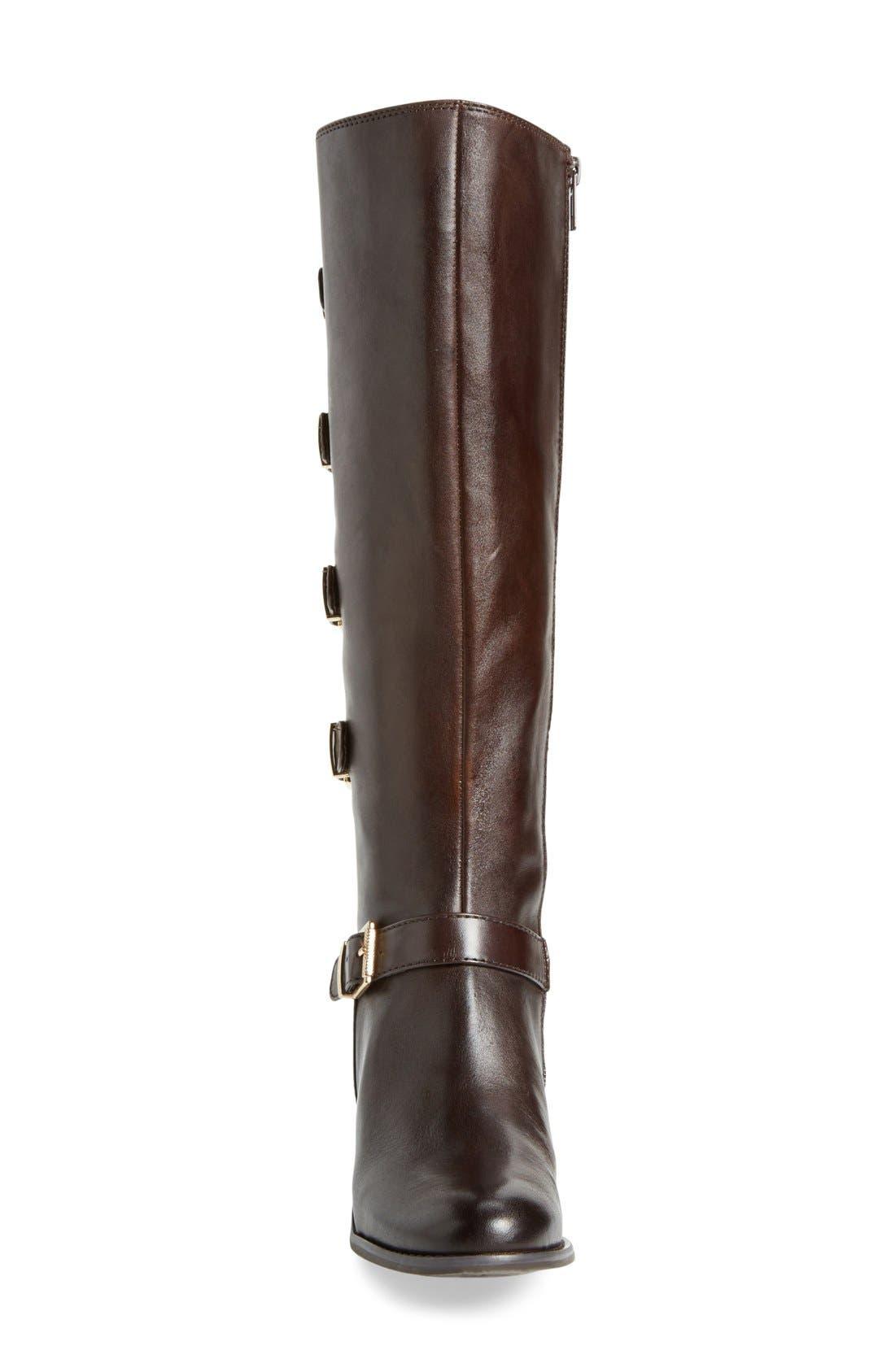 Alternate Image 4  - Arturo Chiang'Beacon' Tall Buckle Boot (Women)