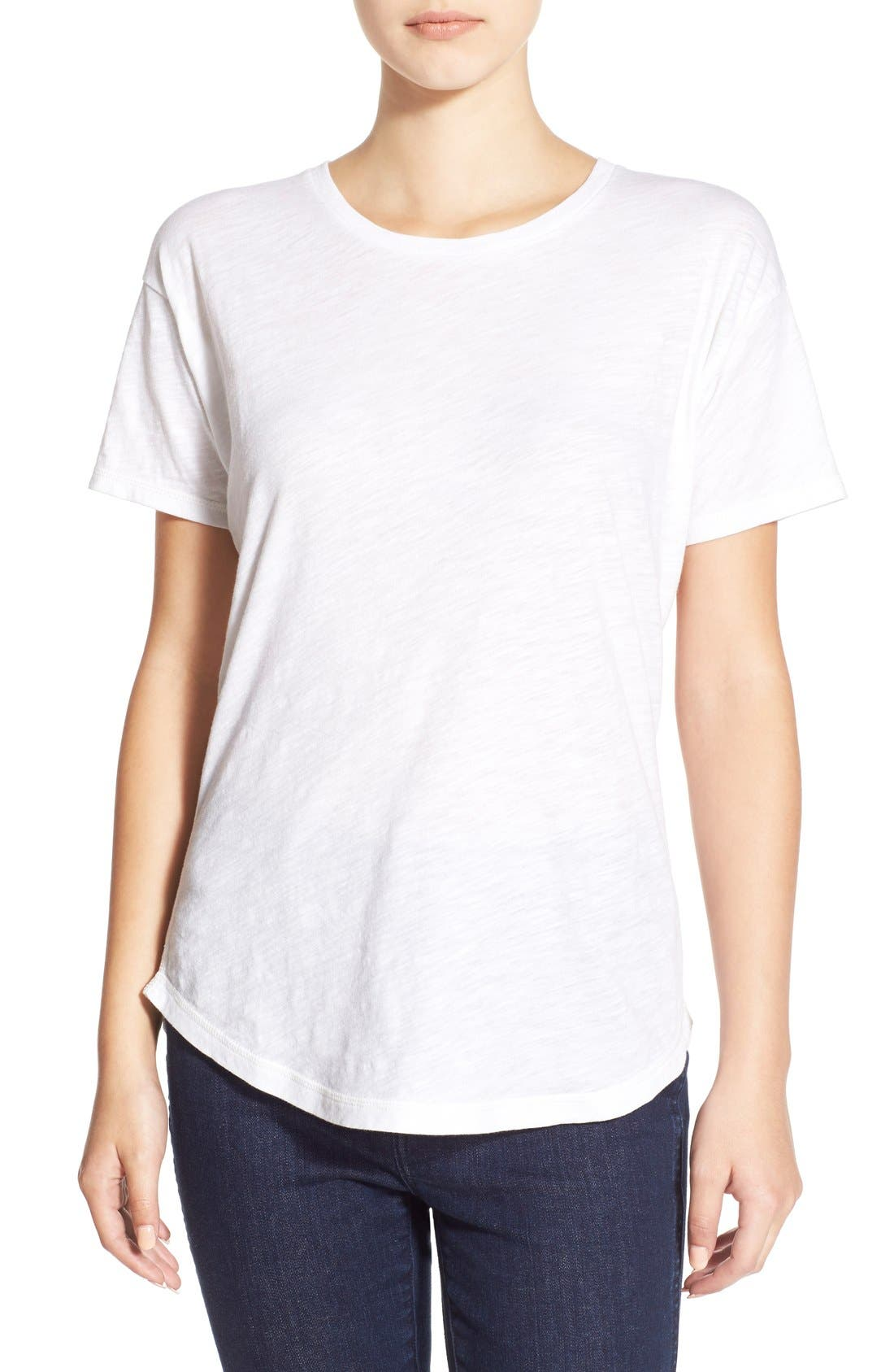 Madewell 'Whisper' Cotton Crewneck Tee