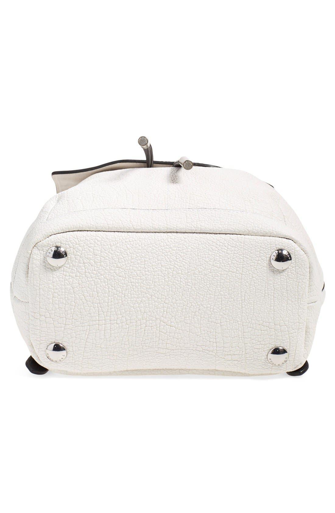 Alternate Image 5  - rag & bone 'Mini Pilot' Leather Backpack