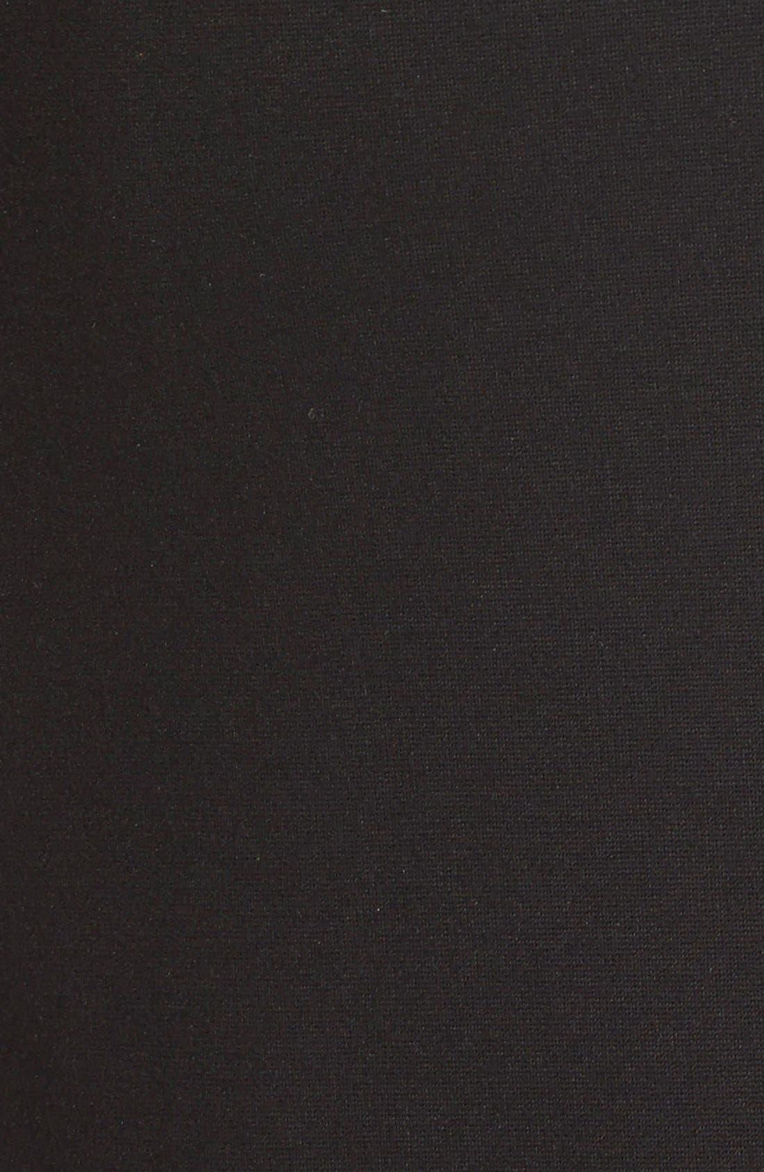 Alternate Image 5  - Classiques Entier® V-Neck Ponte Sheath Dress (Regular & Petite)