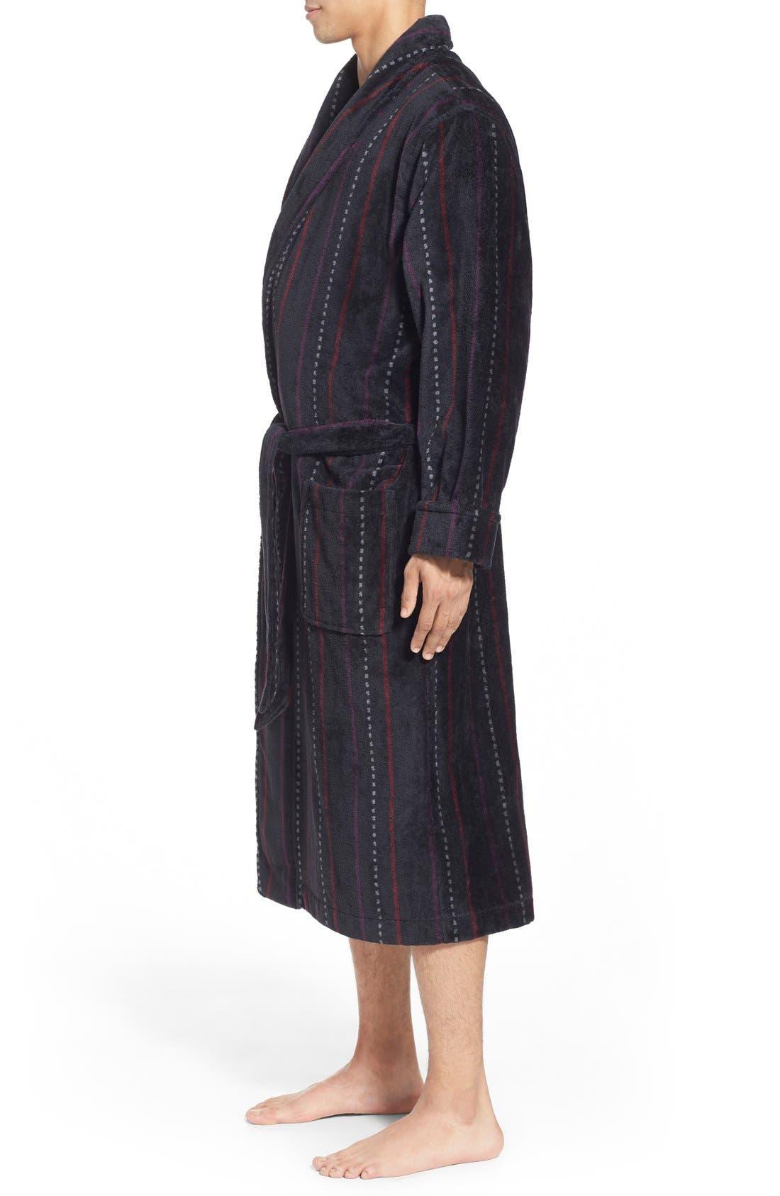 Alternate Image 3  - Nordstrom Men's Shop Terry Shawl Robe