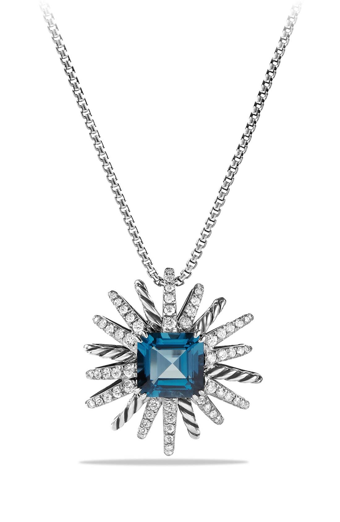 David Yurman 'Starburst' Pendant Necklace
