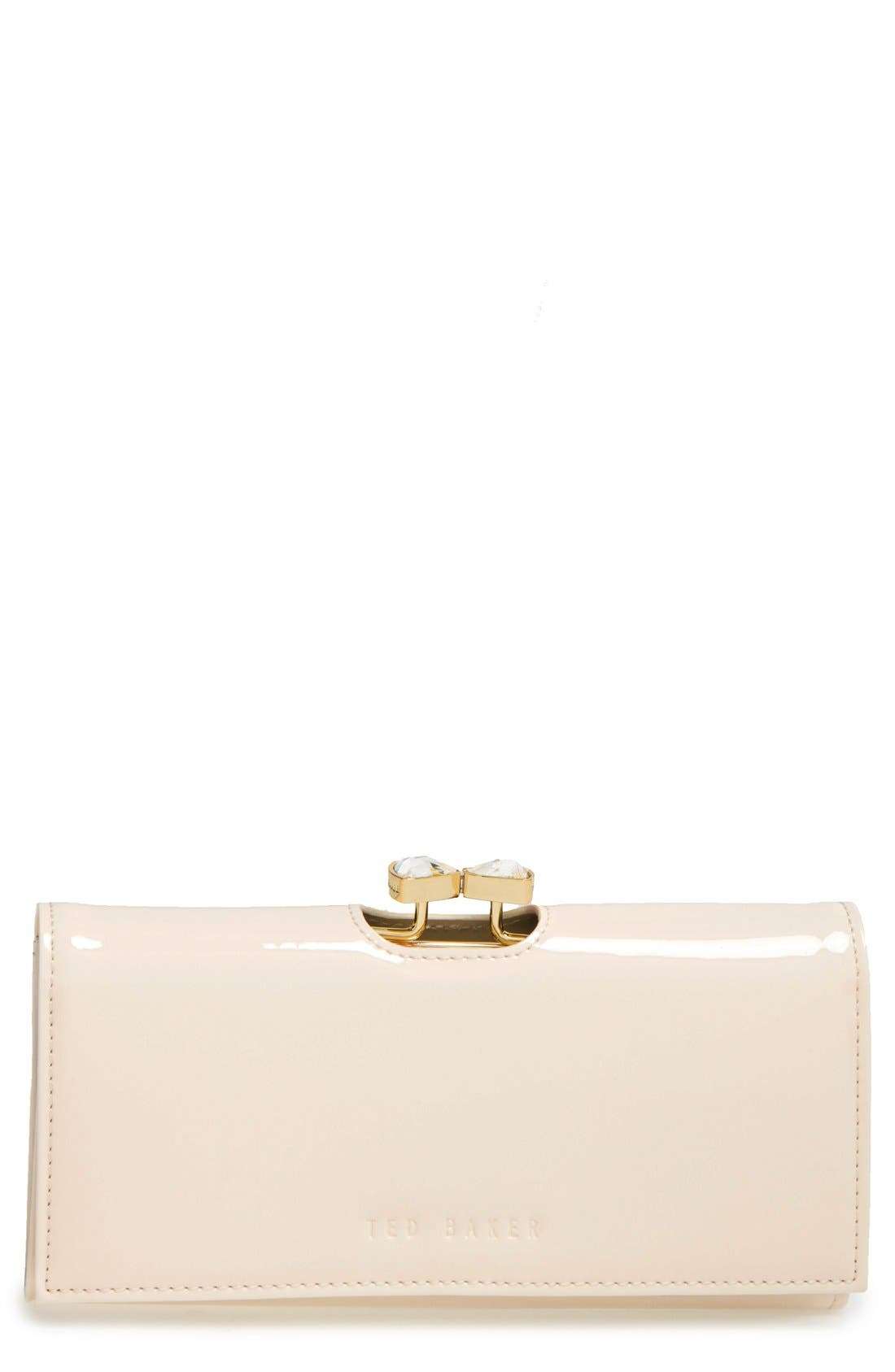 Main Image - Ted Baker London Leather Matinee Wallet