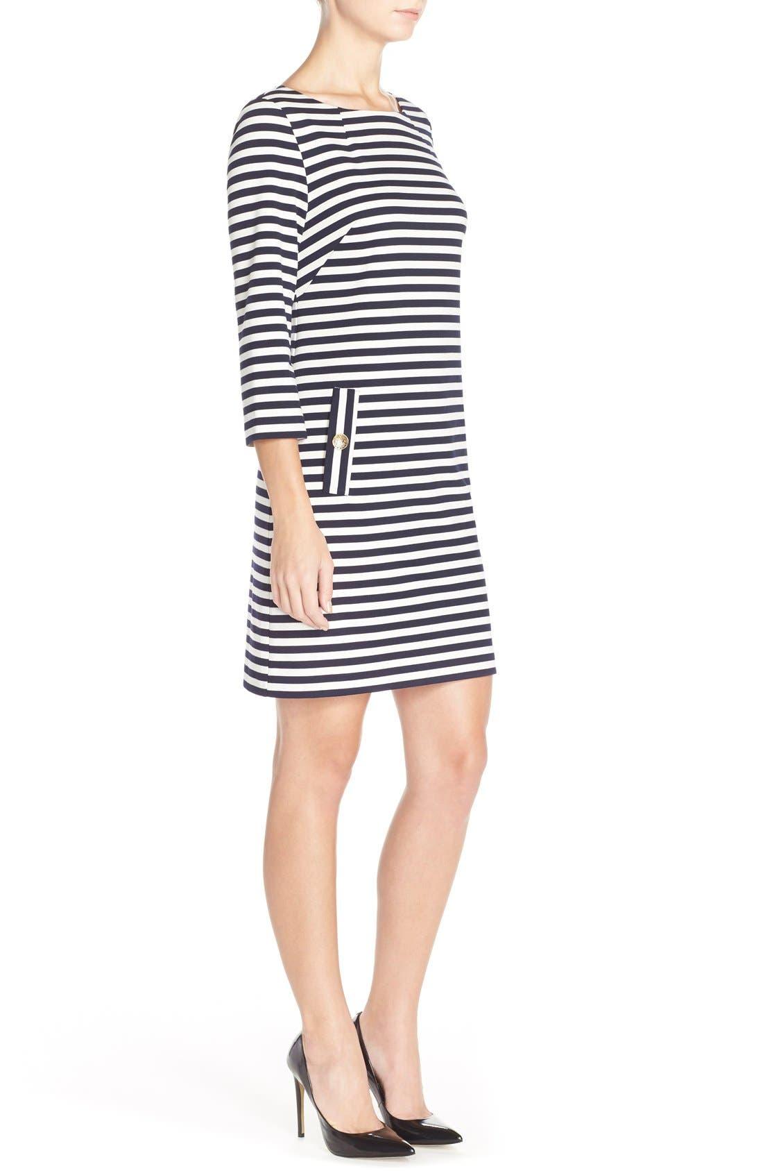 Alternate Image 3  - Eliza J Stripe Shift Dress