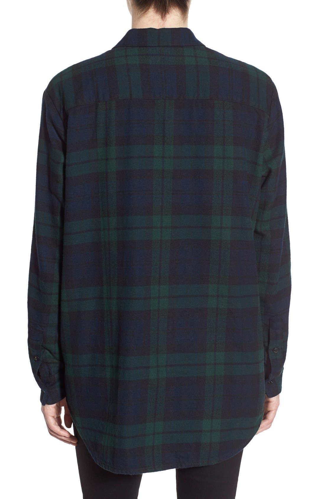 Alternate Image 3  - Madewell Plaid Oversize Cotton Shirt