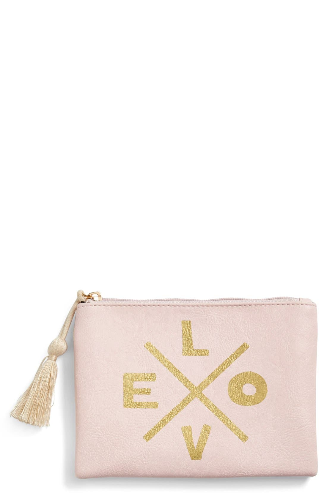Alternate Image 1 Selected - Lulu Sayings Pouch