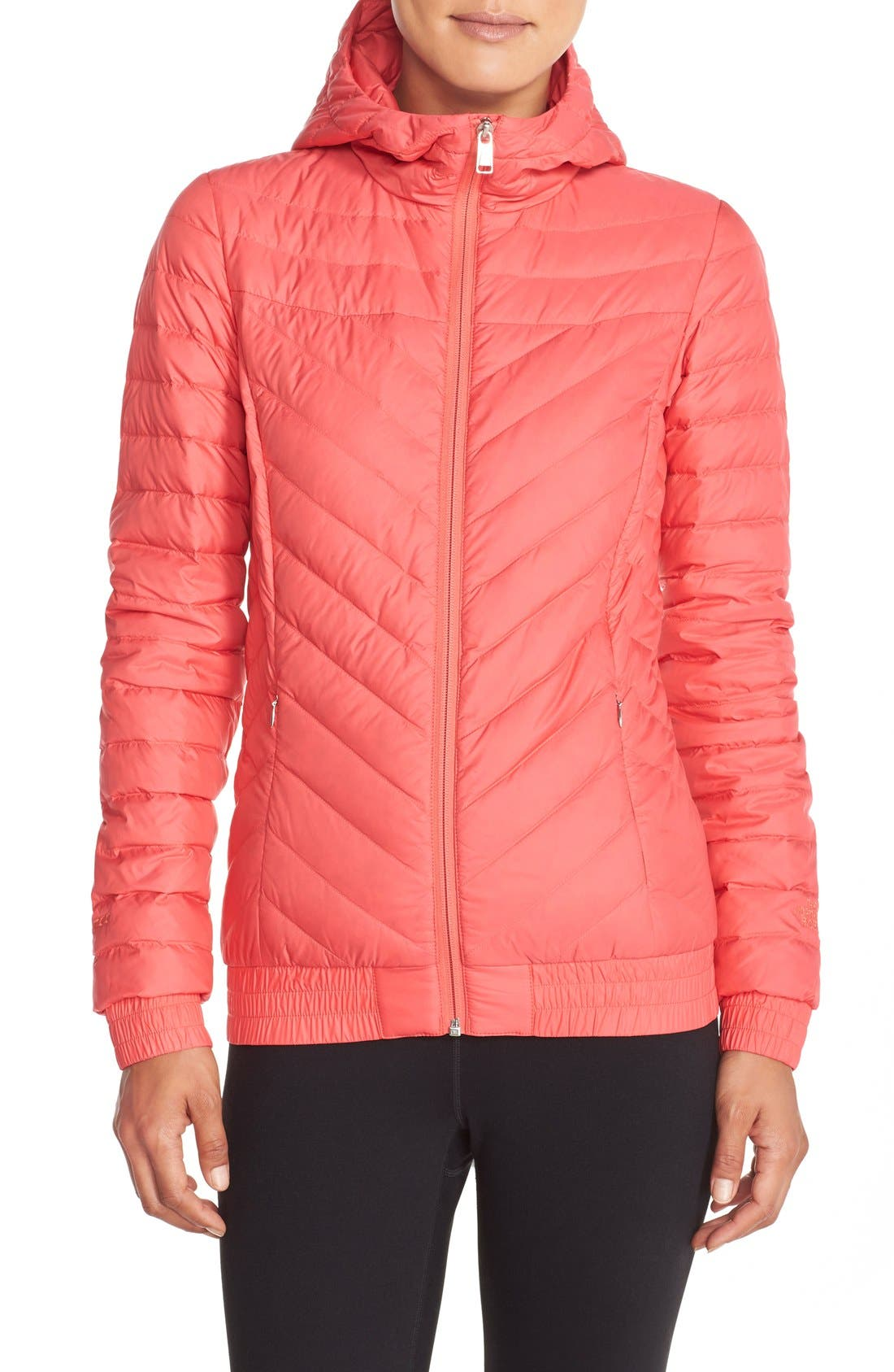 Alternate Image 1 Selected - The North Face 'Karokora' Quilted Down Bomber Jacket