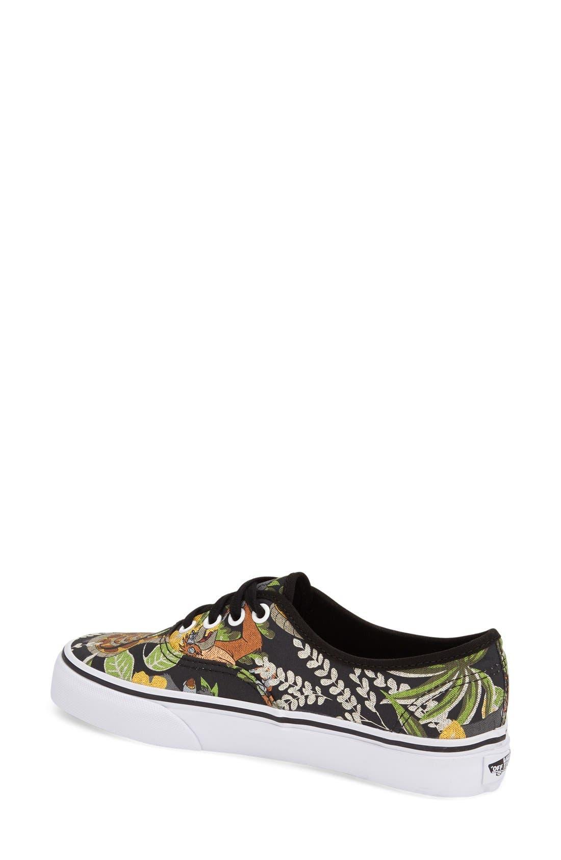 Alternate Image 2  - Vans 'Authentic - Disney® The Jungle Book' Sneaker (Women)