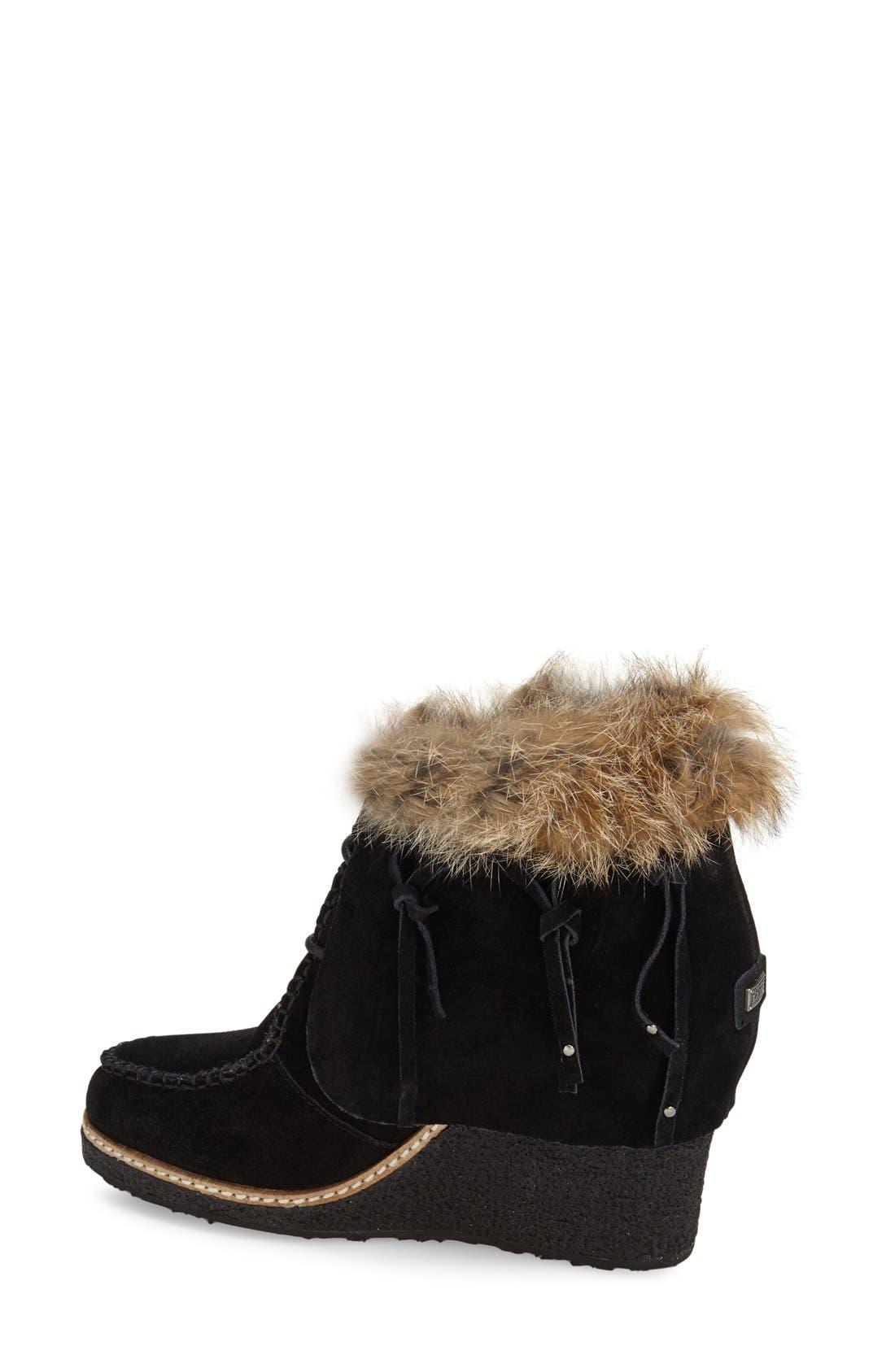 Alternate Image 2  - Australia Luxe Collective 'Mantra' Genuine Shearling & Genuine Rabbit Fur Boot (Women)