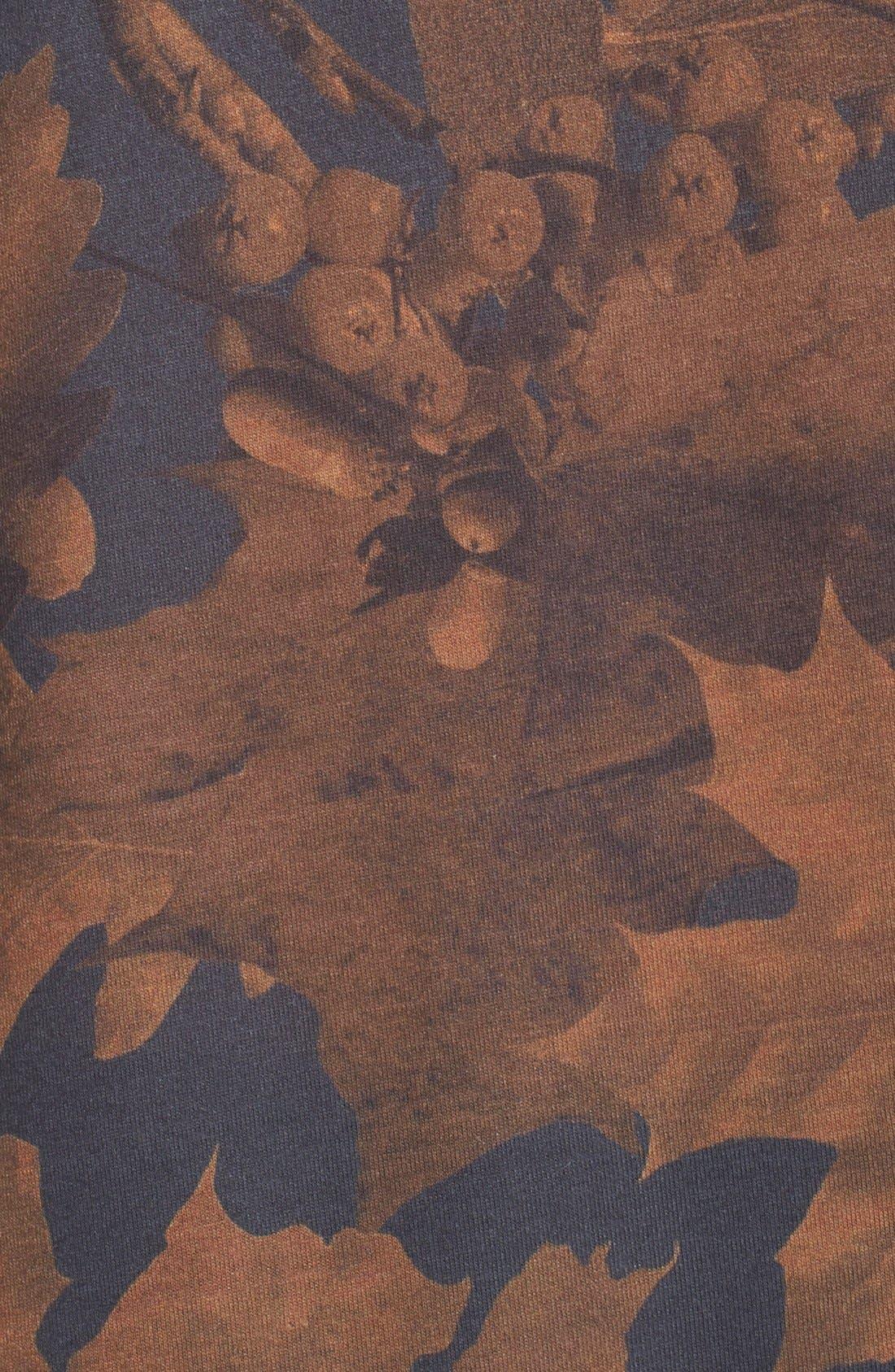 Alternate Image 5  - adidas Originals Leaf Print Crewneck Tee