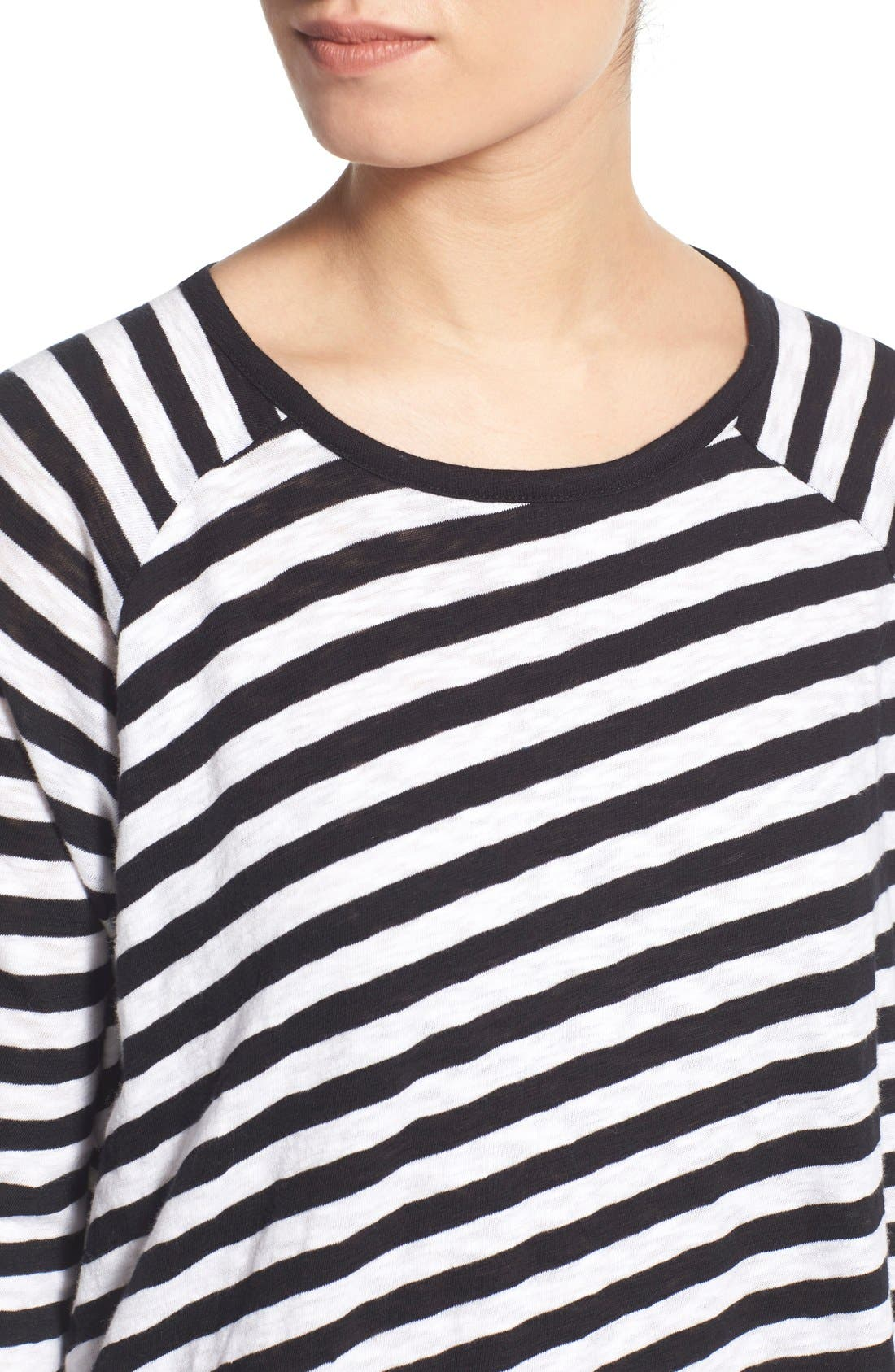 Alternate Image 4  - rag & bone/JEAN 'Camden' Stripe Long Sleeve Tee
