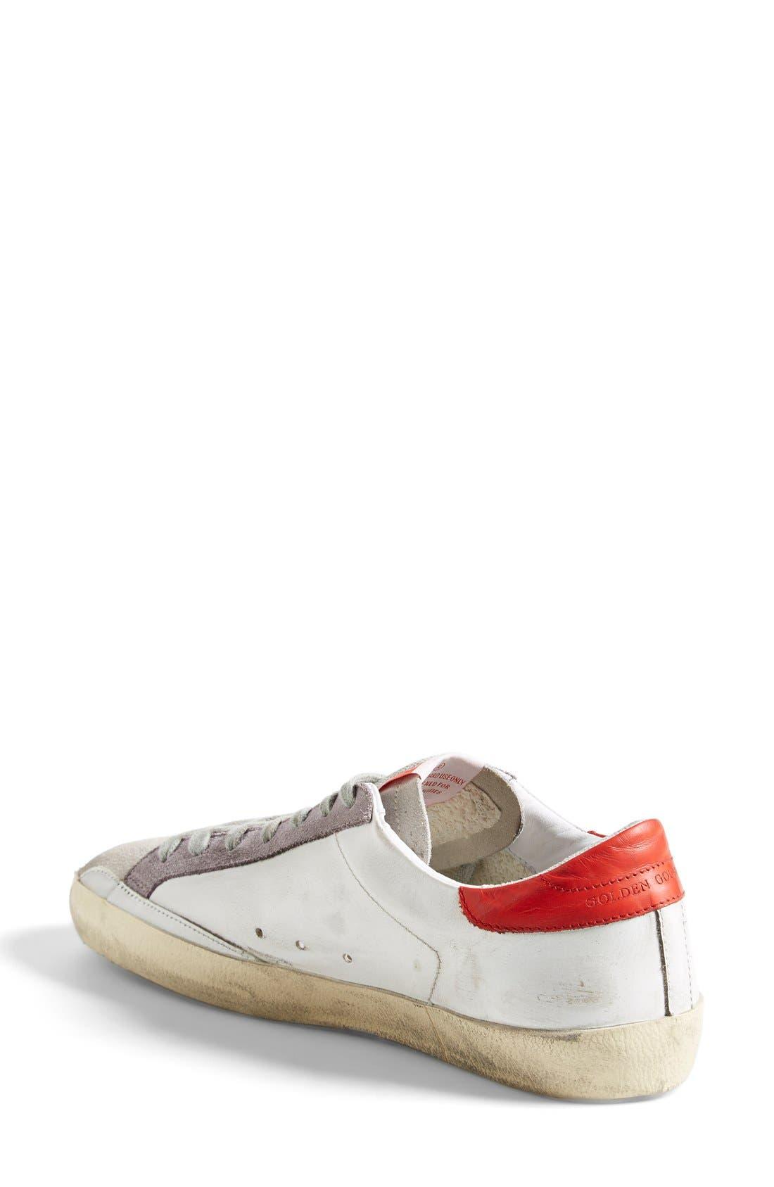 Alternate Image 2  - Golden Goose 'Super Star' Sneaker (Women)