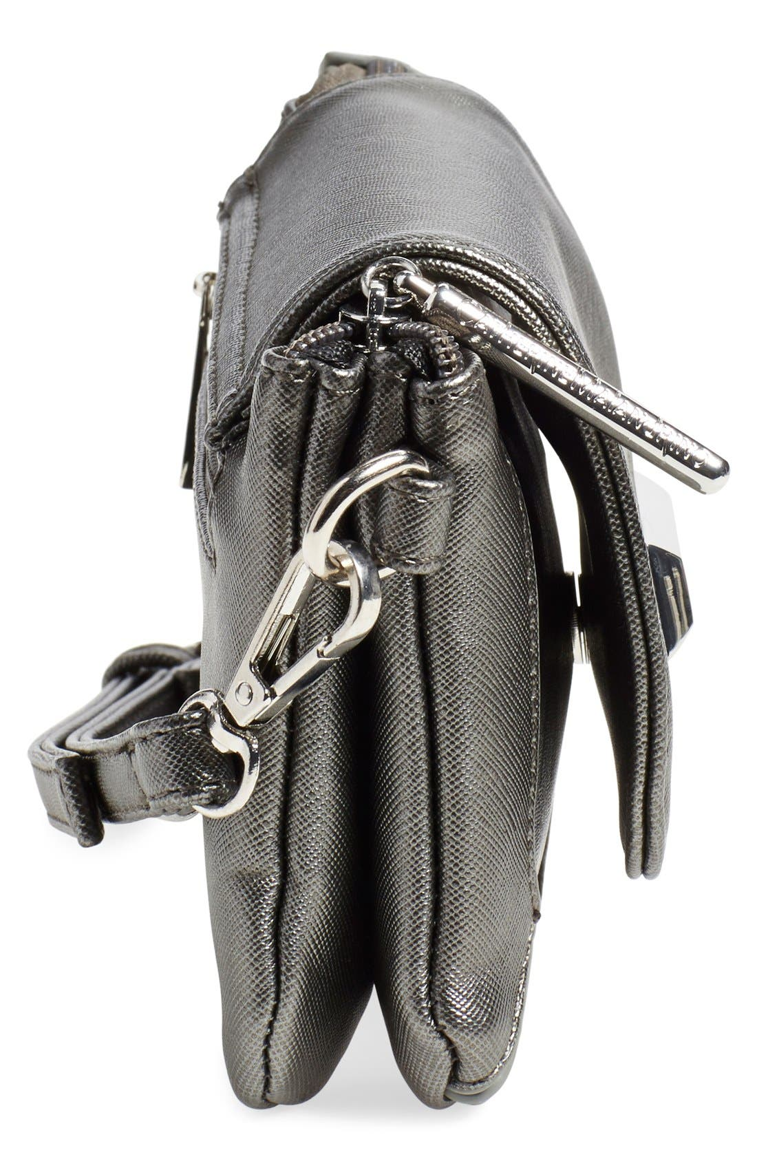Alternate Image 5  - Catherine Catherine Malandrino 'Mini Clara' Crossbody Bag