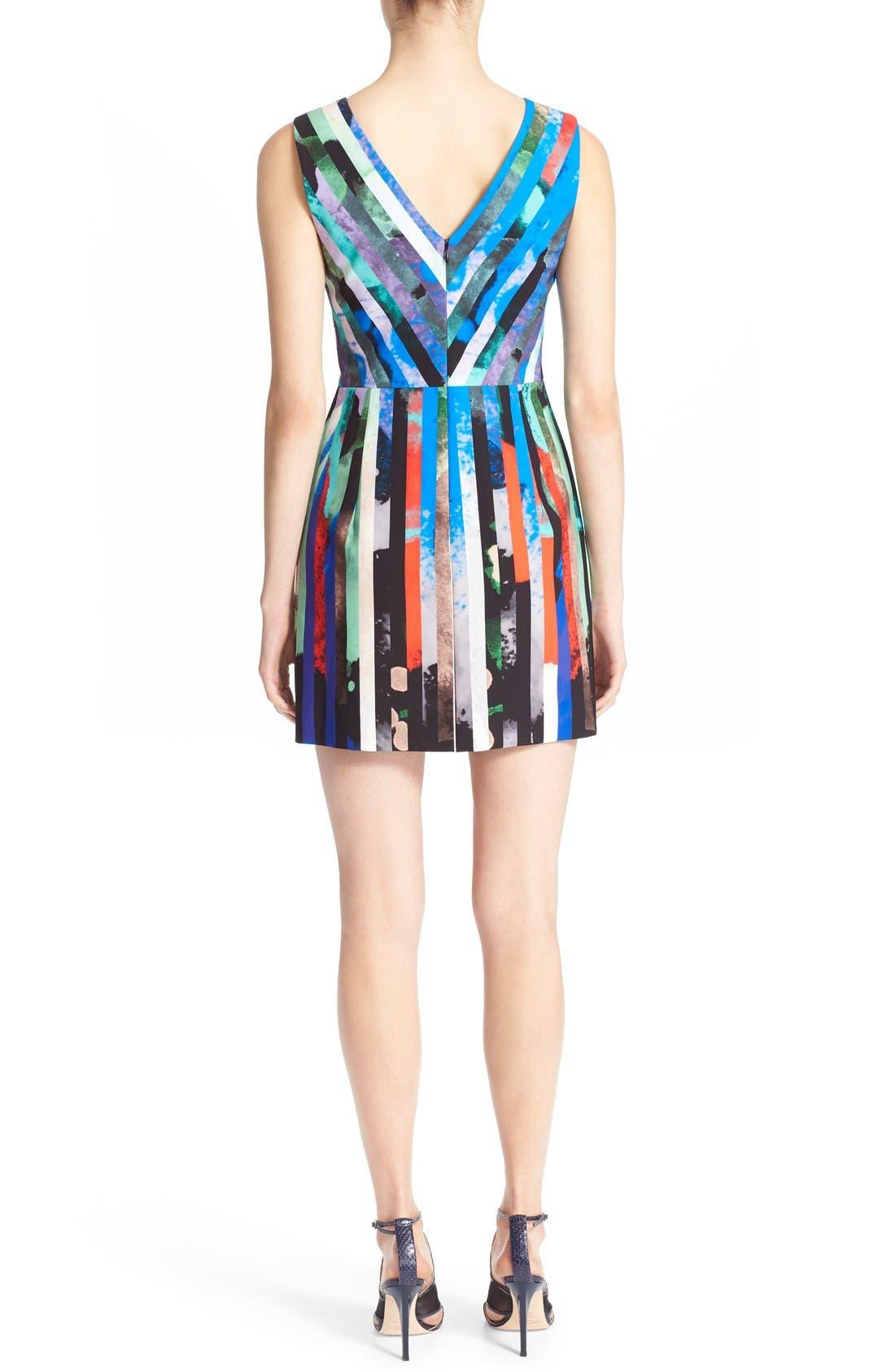 Alternate Image 2  - Milly 'Allison' Stripe Minidress