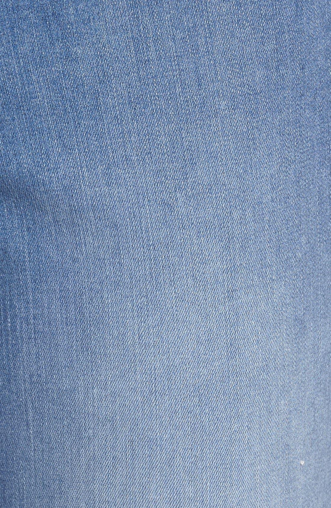 Alternate Image 5  - NYDJ 'Farrah' Stretch Flare Leg Jeans (Upper Falls)