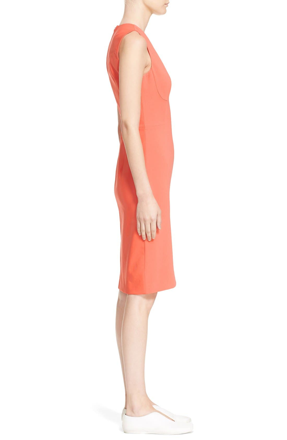 Alternate Image 5  - Stella McCartney 'Simona' Sleeveless V-Neck Dress
