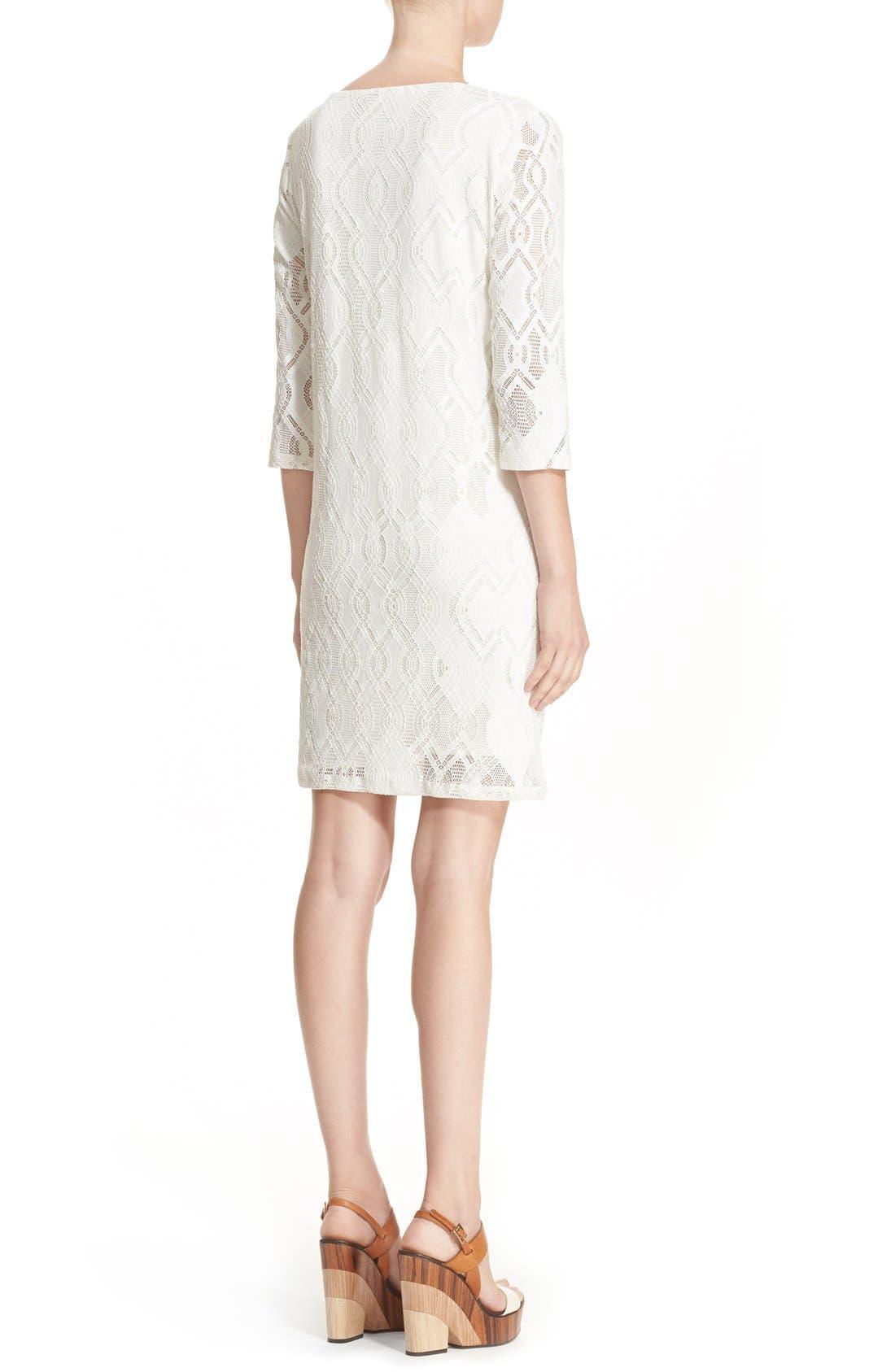 Alternate Image 2  - Fuzzi Lace Shift Dress