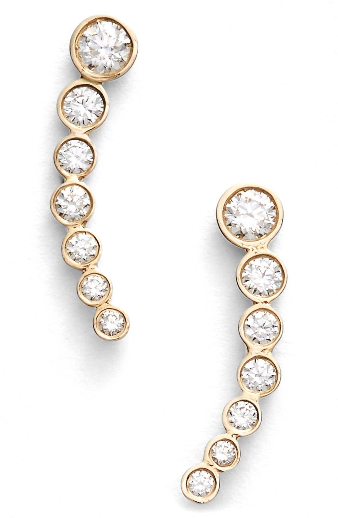 LANA JEWELRY 'Femme Fatale' Stud Earrings