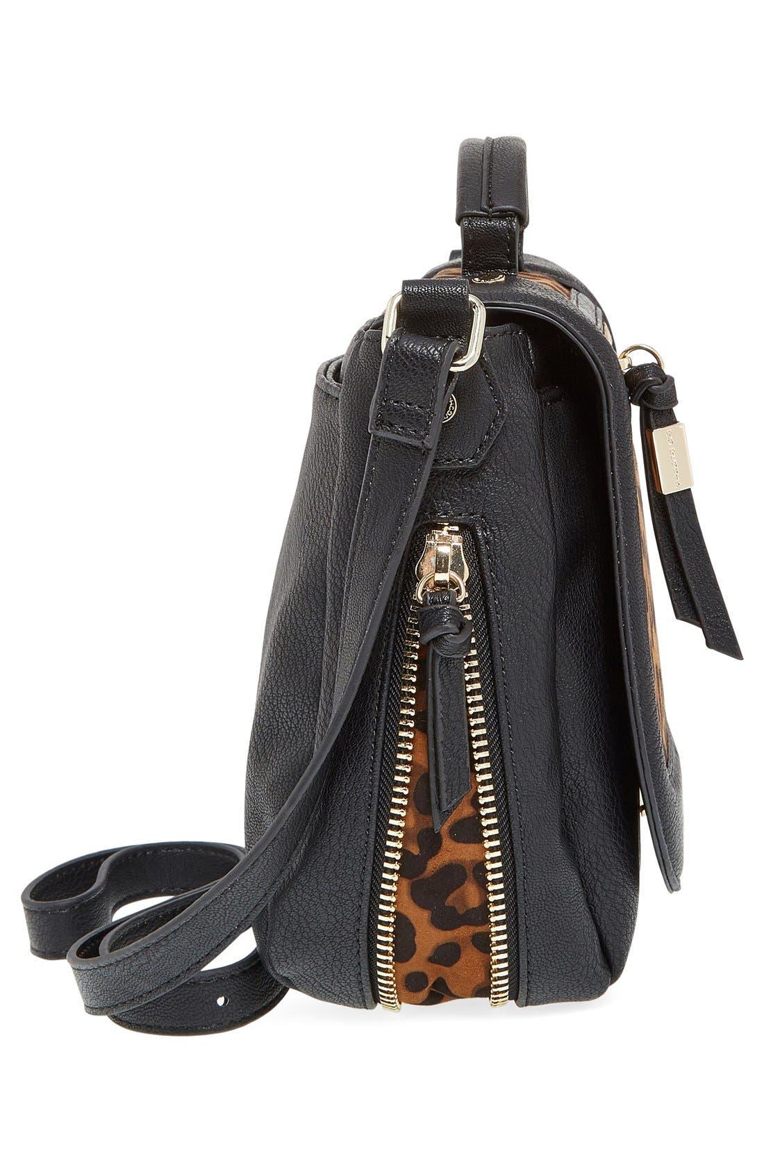 Alternate Image 5  - Big Buddha 'ZJane' Faux Leather Crossbody Flap Bag