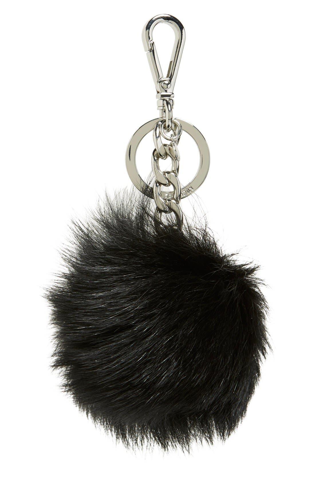 Main Image - MICHAEL Michael Kors 'XL' Genuine Fox Fur Bag Charm