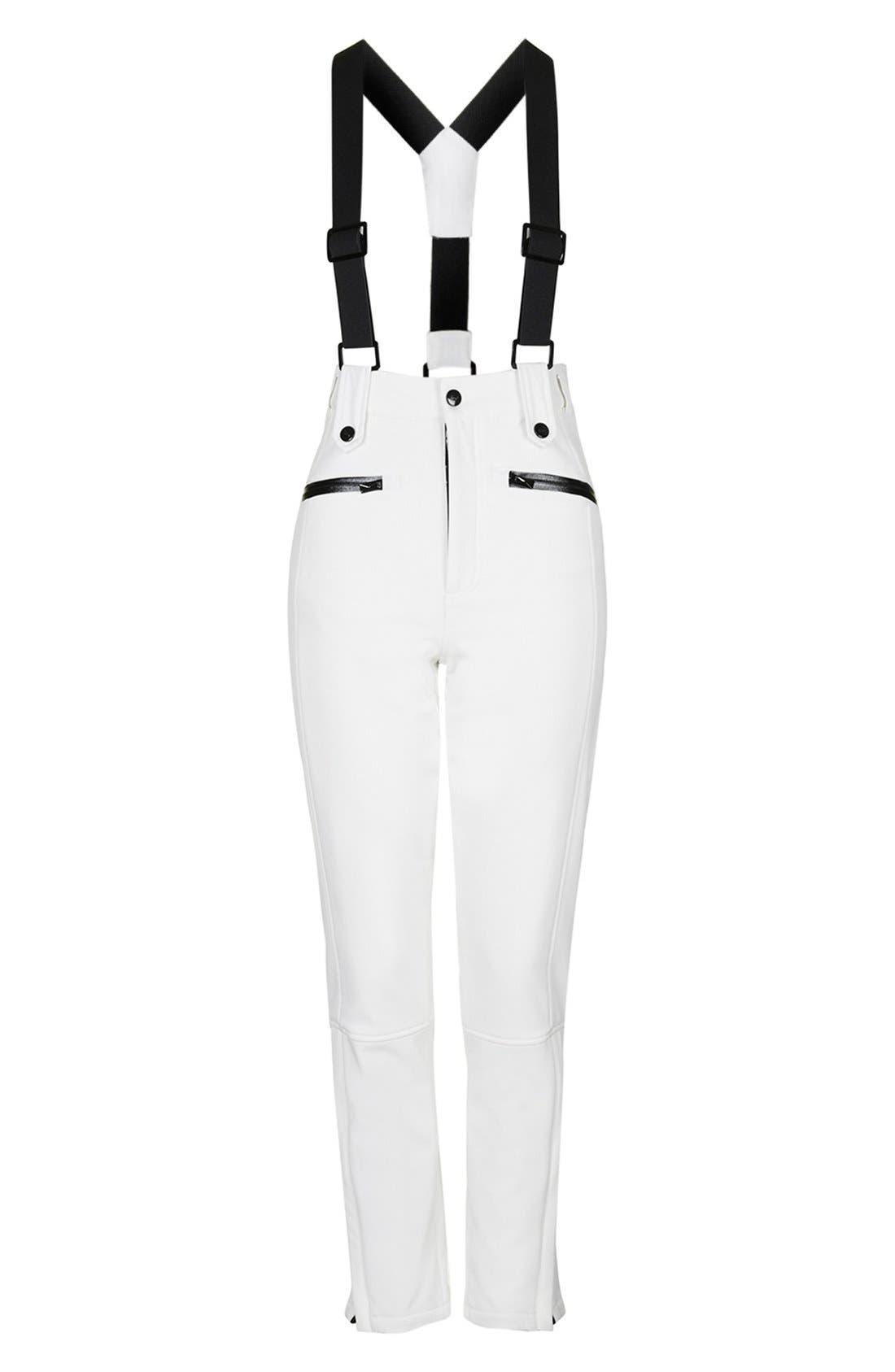 Alternate Image 4  - Topshop 'Tyrian' Overall Ski Pants