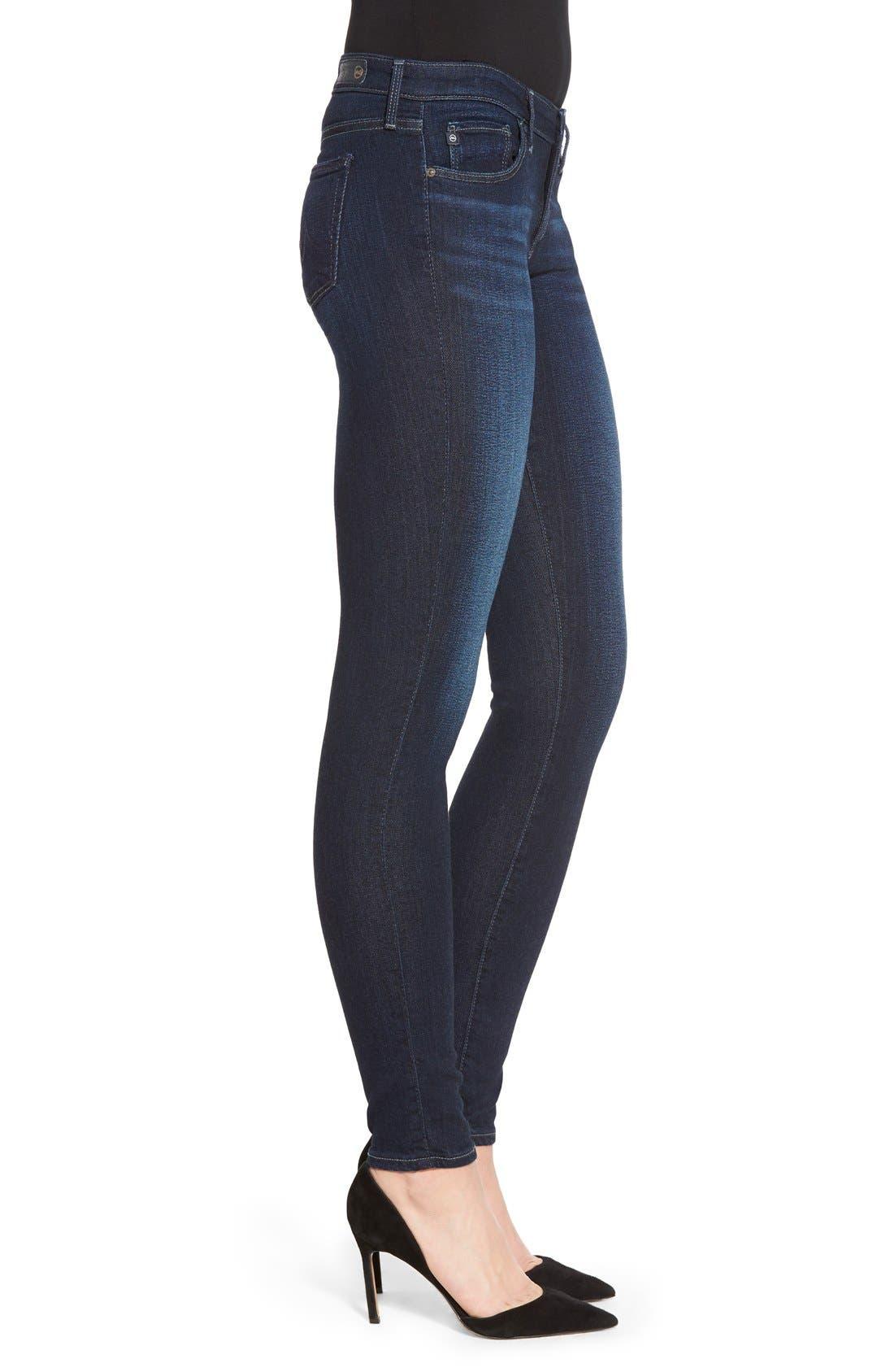Alternate Image 3  - AG Jeans Super Skinny Stretch Jeans (Stella)
