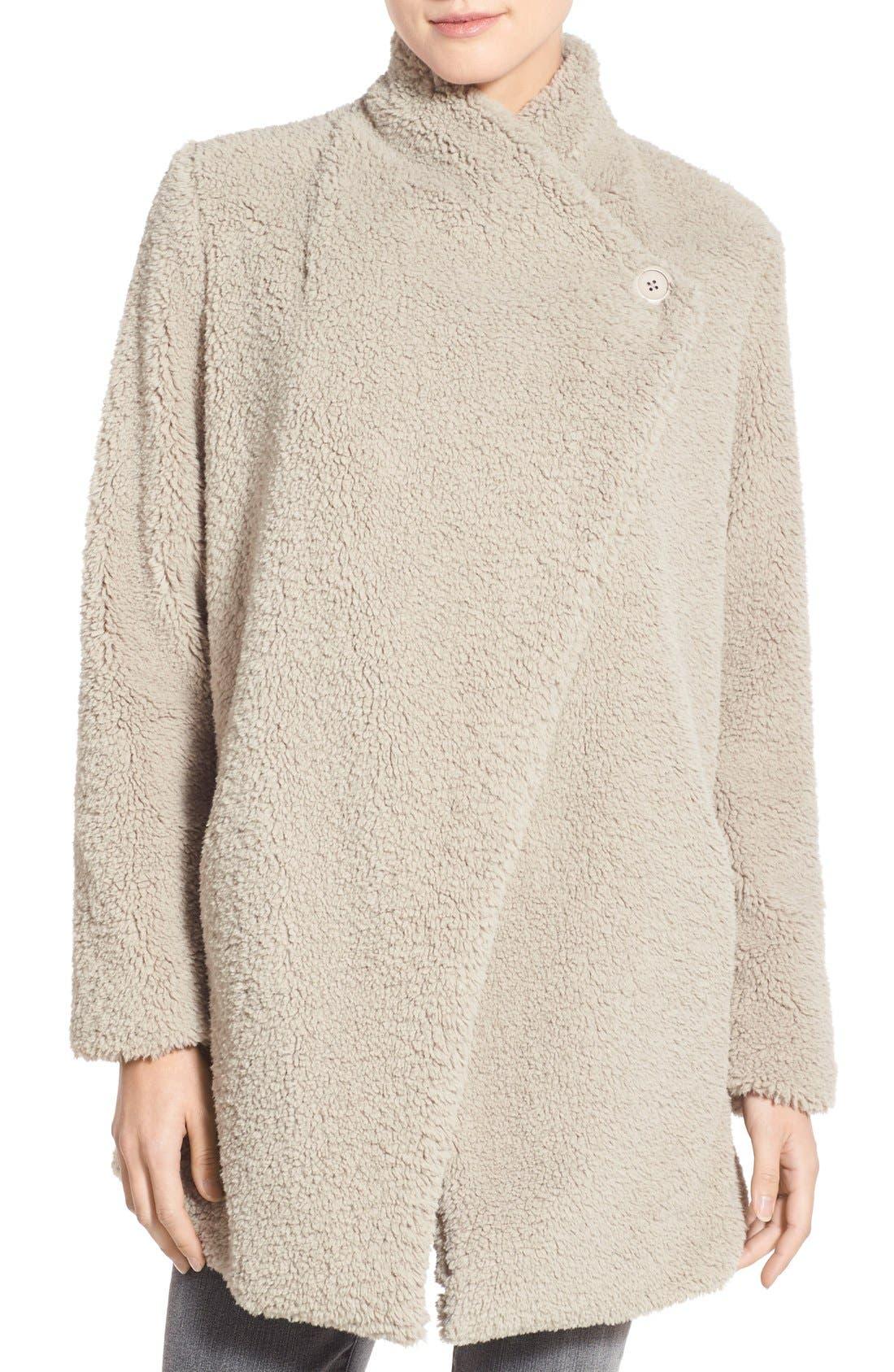 Alternate Image 4  - BB Dakota 'Daylin' Faux Fur One Button Coat