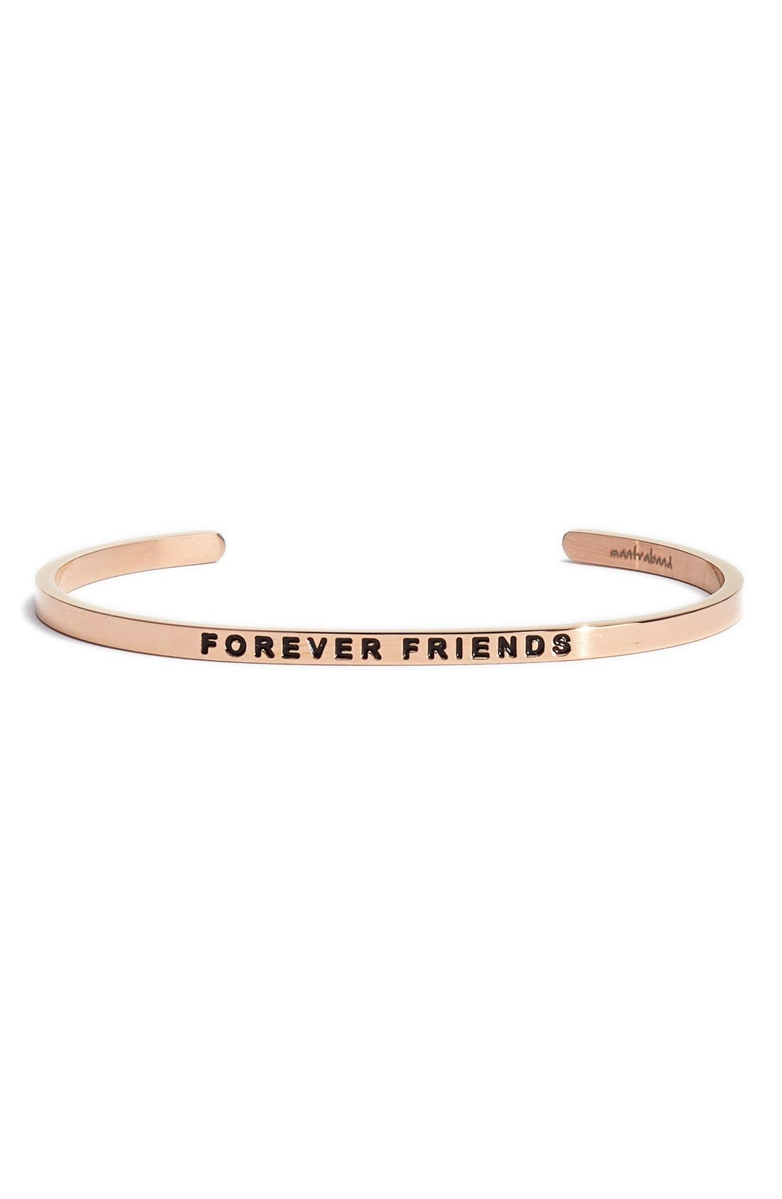 MANTRABAND 'Forever Friends' Cuff
