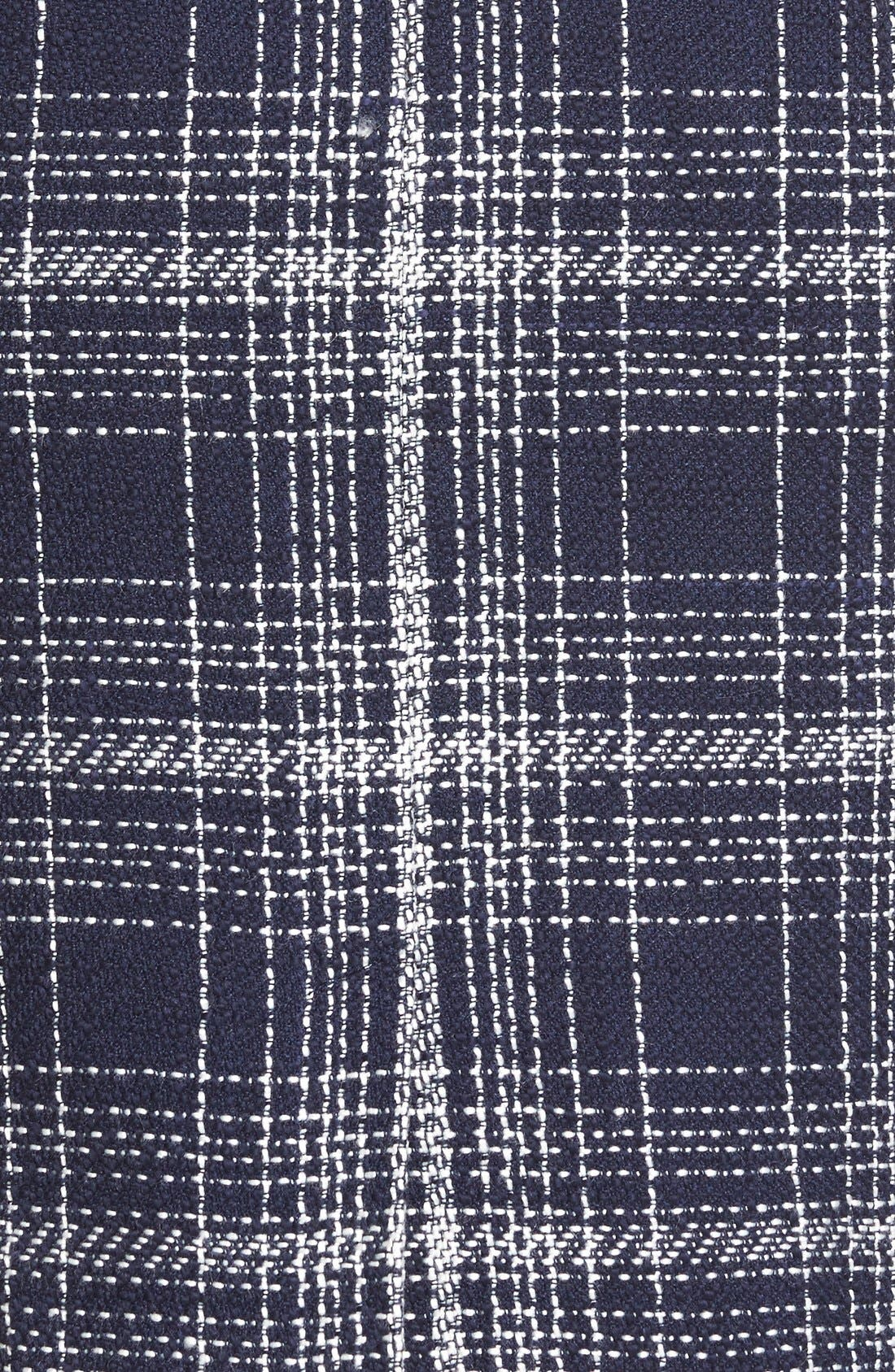 Alternate Image 6  - Halogen® Flap Pocket Tweed Pencil Skirt (Regular & Petite)