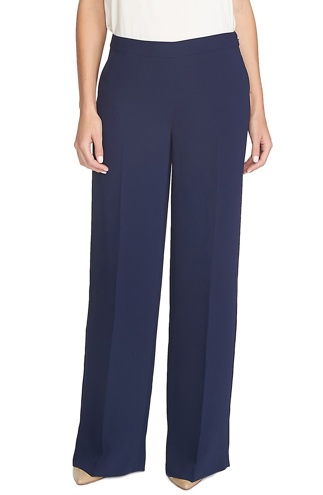 Alternate Image 1 Selected - CeCe by Cynthia Steffe Wide Leg Pants