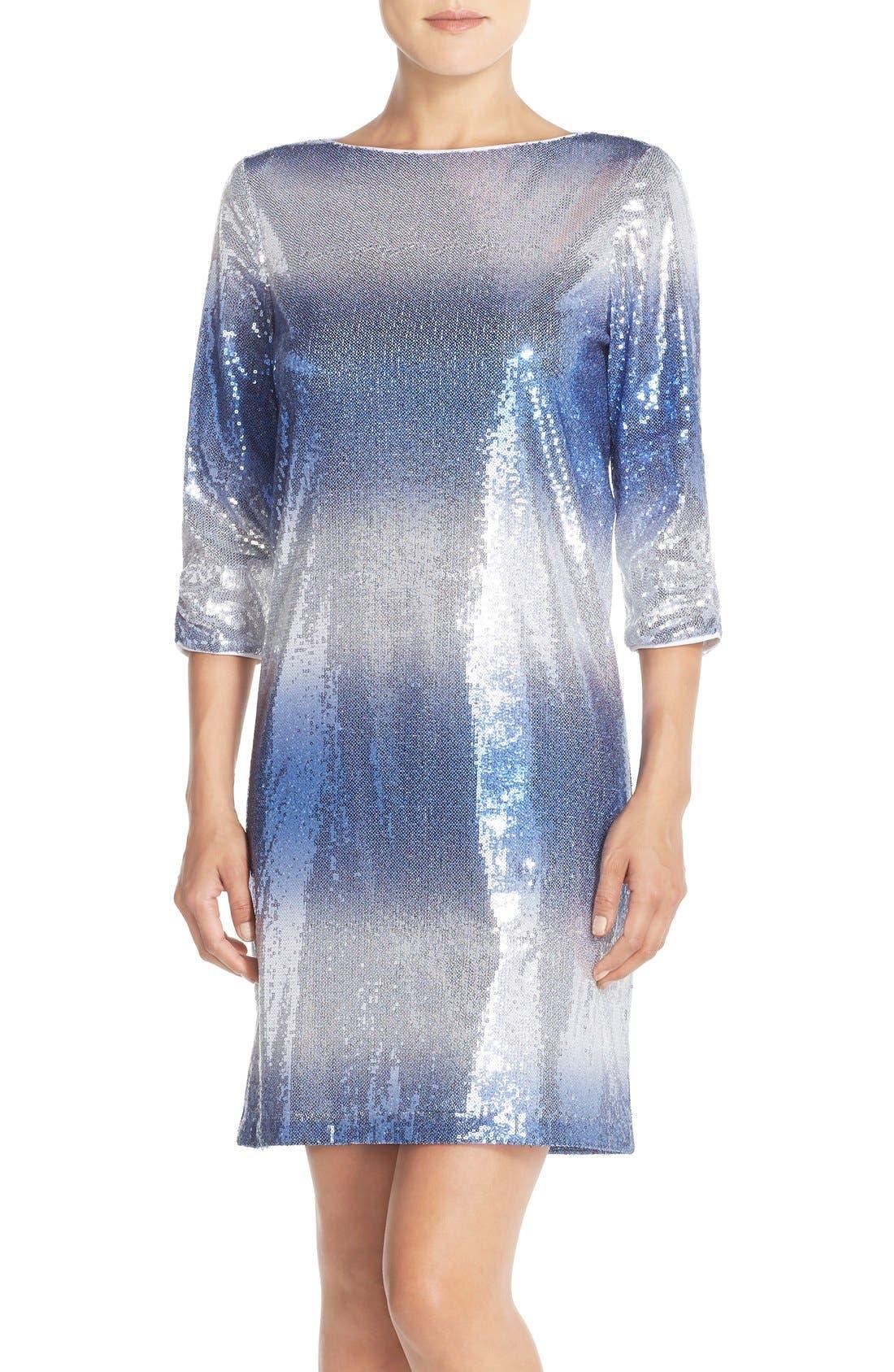 Main Image - Maia Stretch Sequin Dress