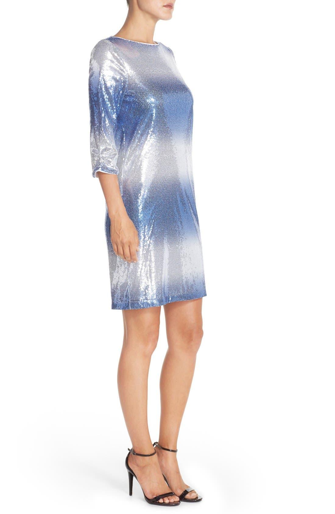 Alternate Image 3  - Maia Stretch Sequin Dress