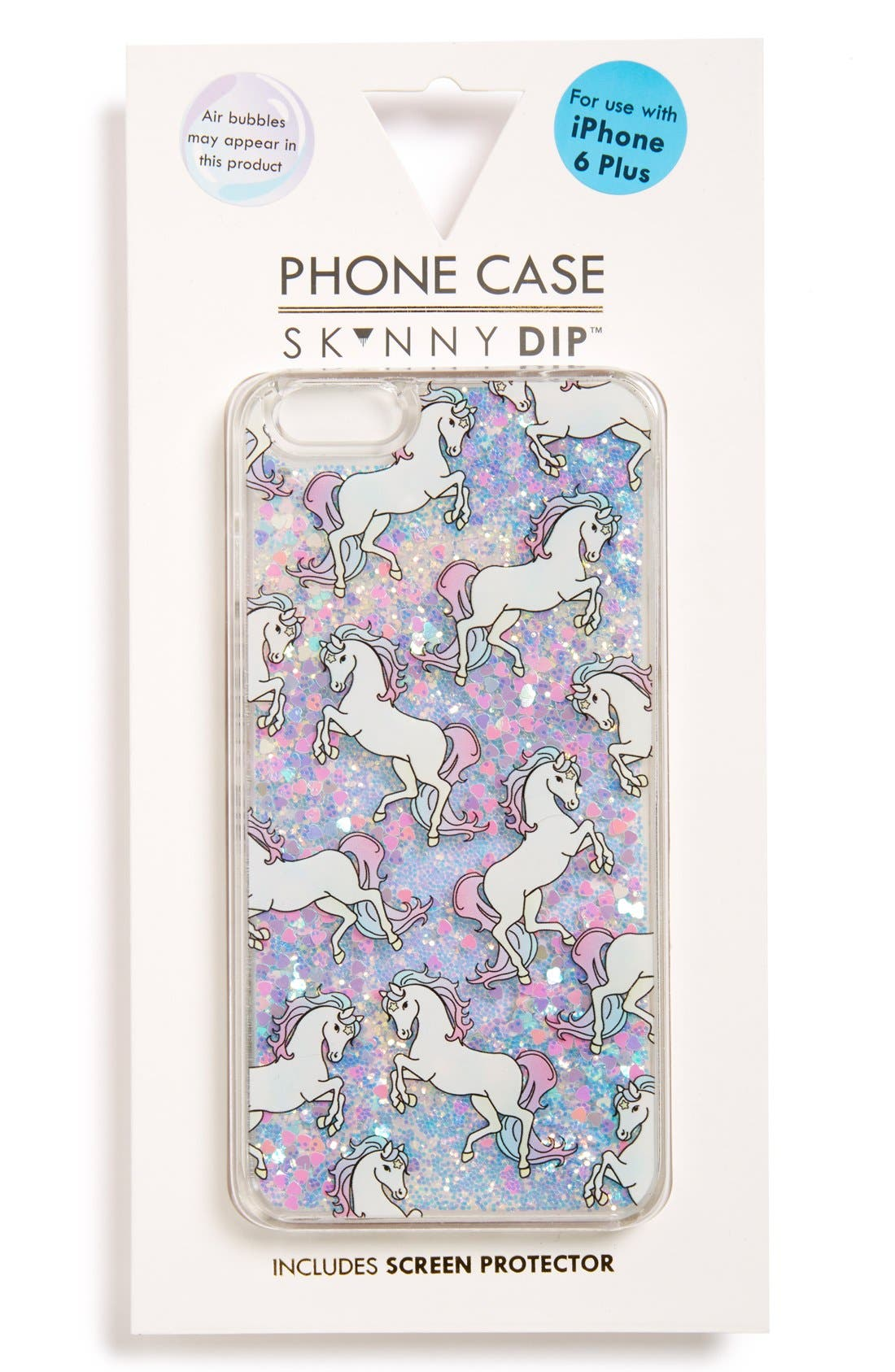 Main Image - Skinnydip Unicorn iPhone 6 Plus & 6s Plus Case