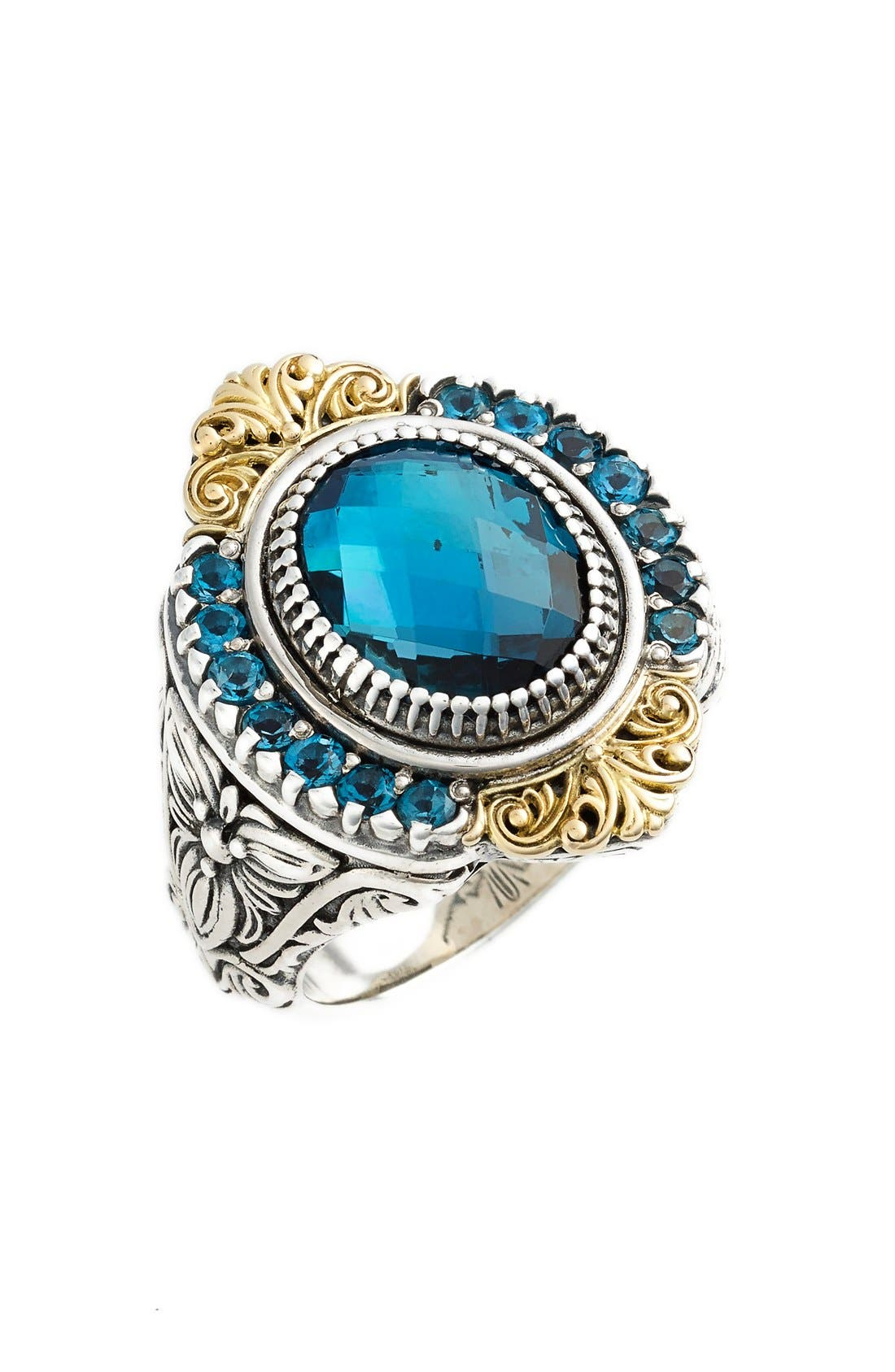 Konstantino 'Thalassa' Topaz Ring