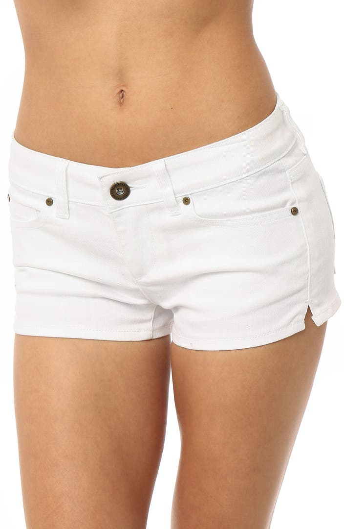 Shop for white denim shorts online at Target. Free shipping on purchases over $35 and save 5% every day with your Target REDcard.