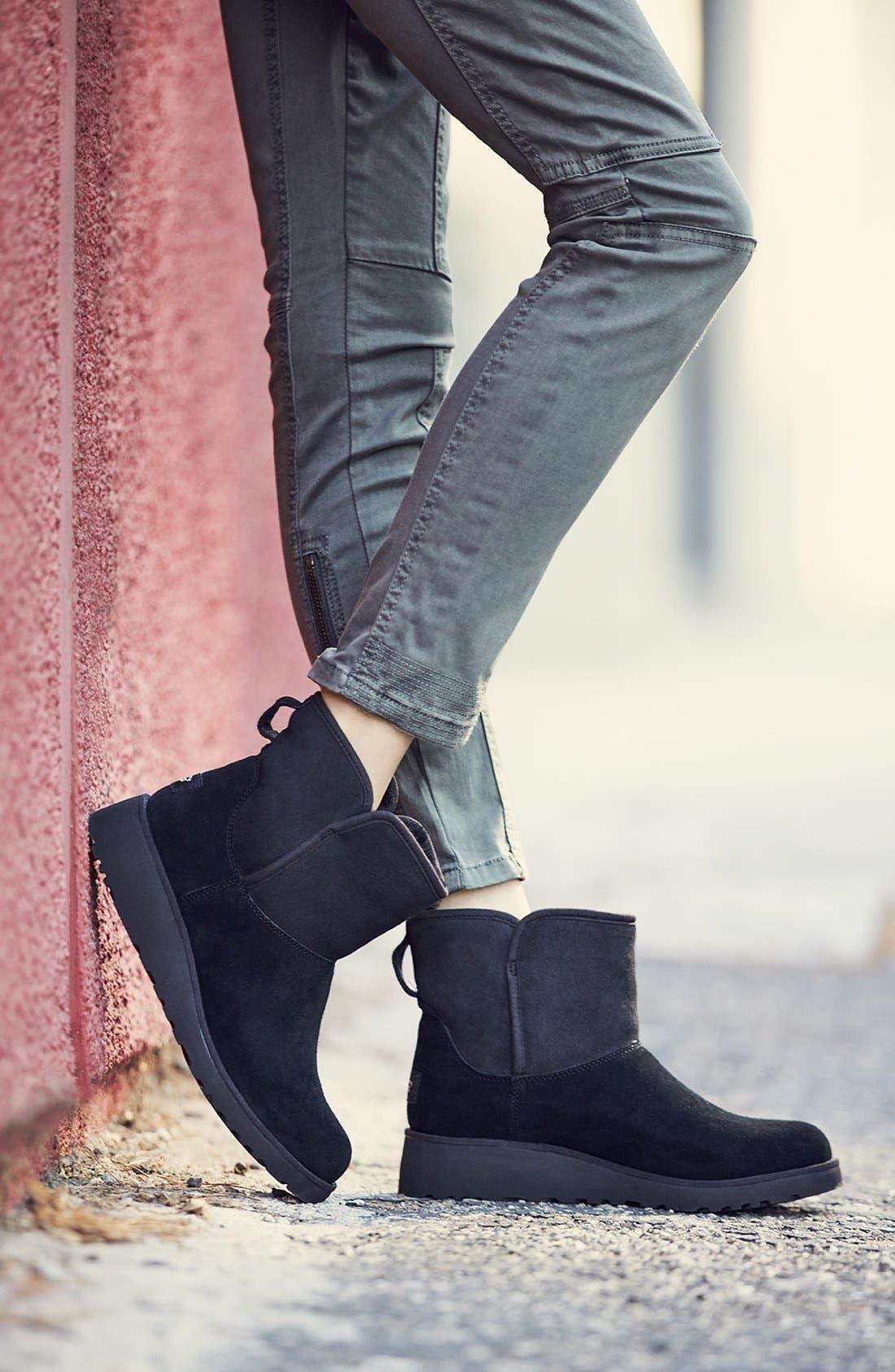 Alternate Image 8  - UGG® Kristin - Classic Slim™ Water Resistant Mini Boot (Women)