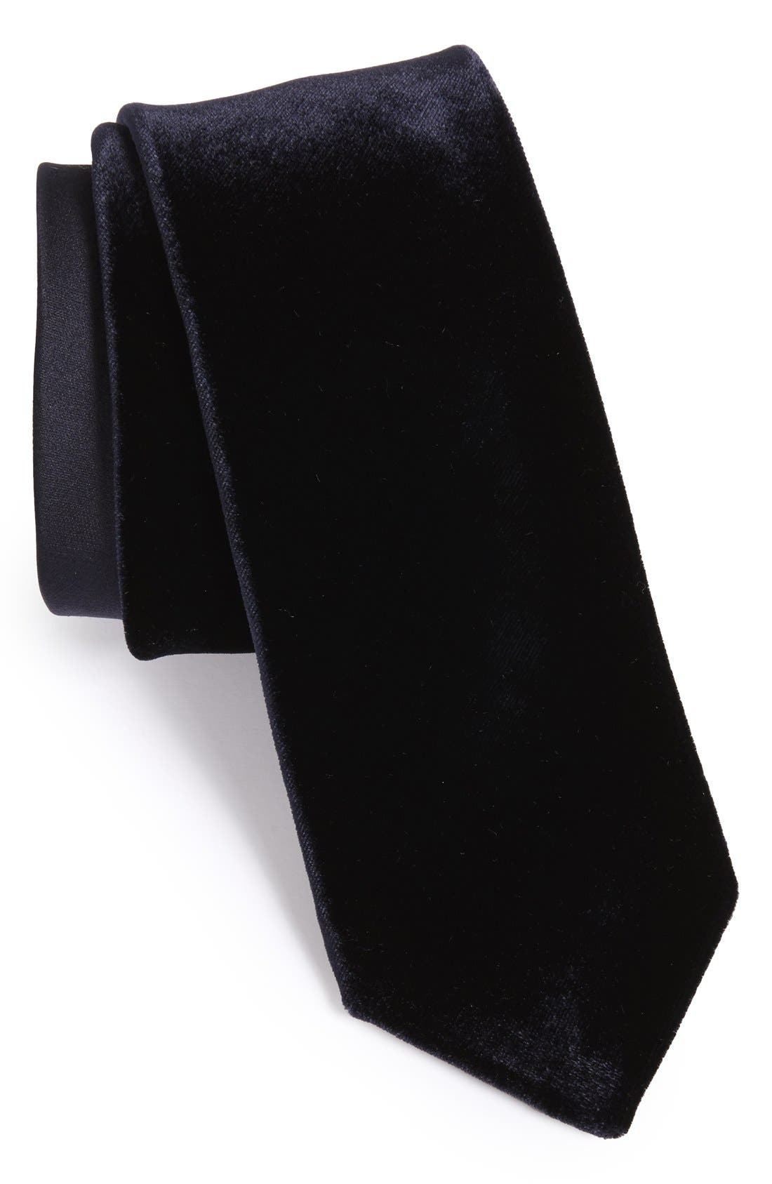 Alternate Image 1 Selected - Yves Saint Laurent Woven Tie